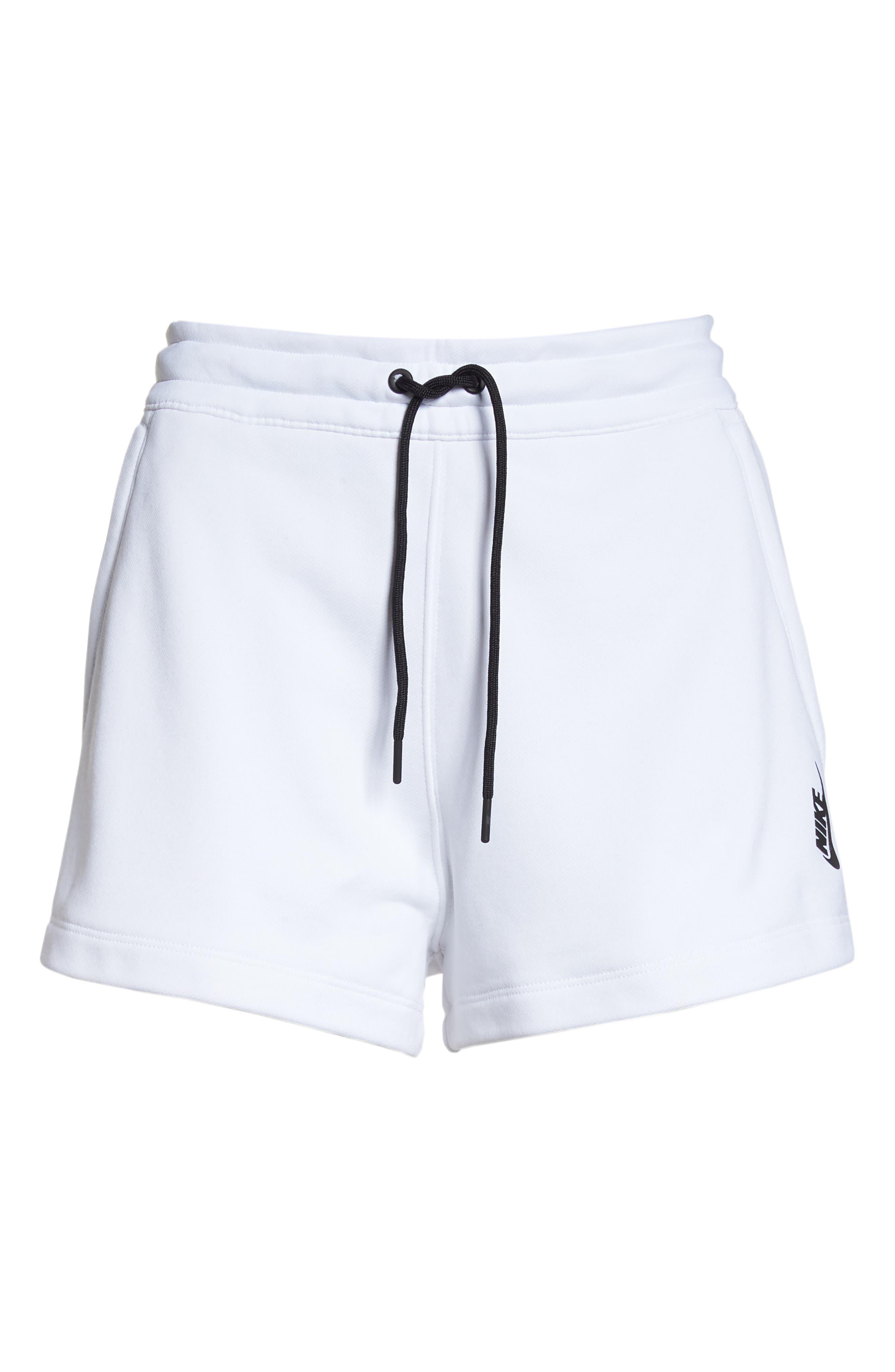 NikeLab Collection Women's Fleece Shorts,                             Alternate thumbnail 7, color,                             100
