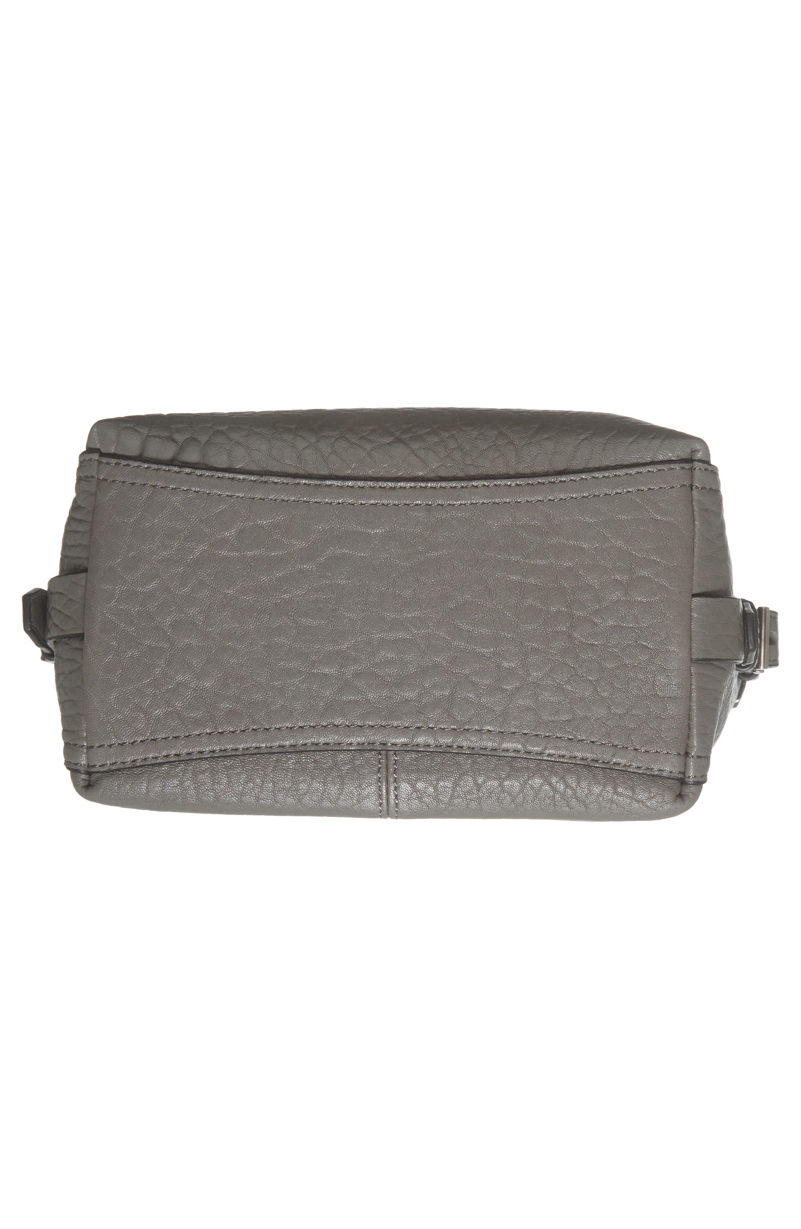 Fava Leather Bucket Bag,                             Alternate thumbnail 17, color,