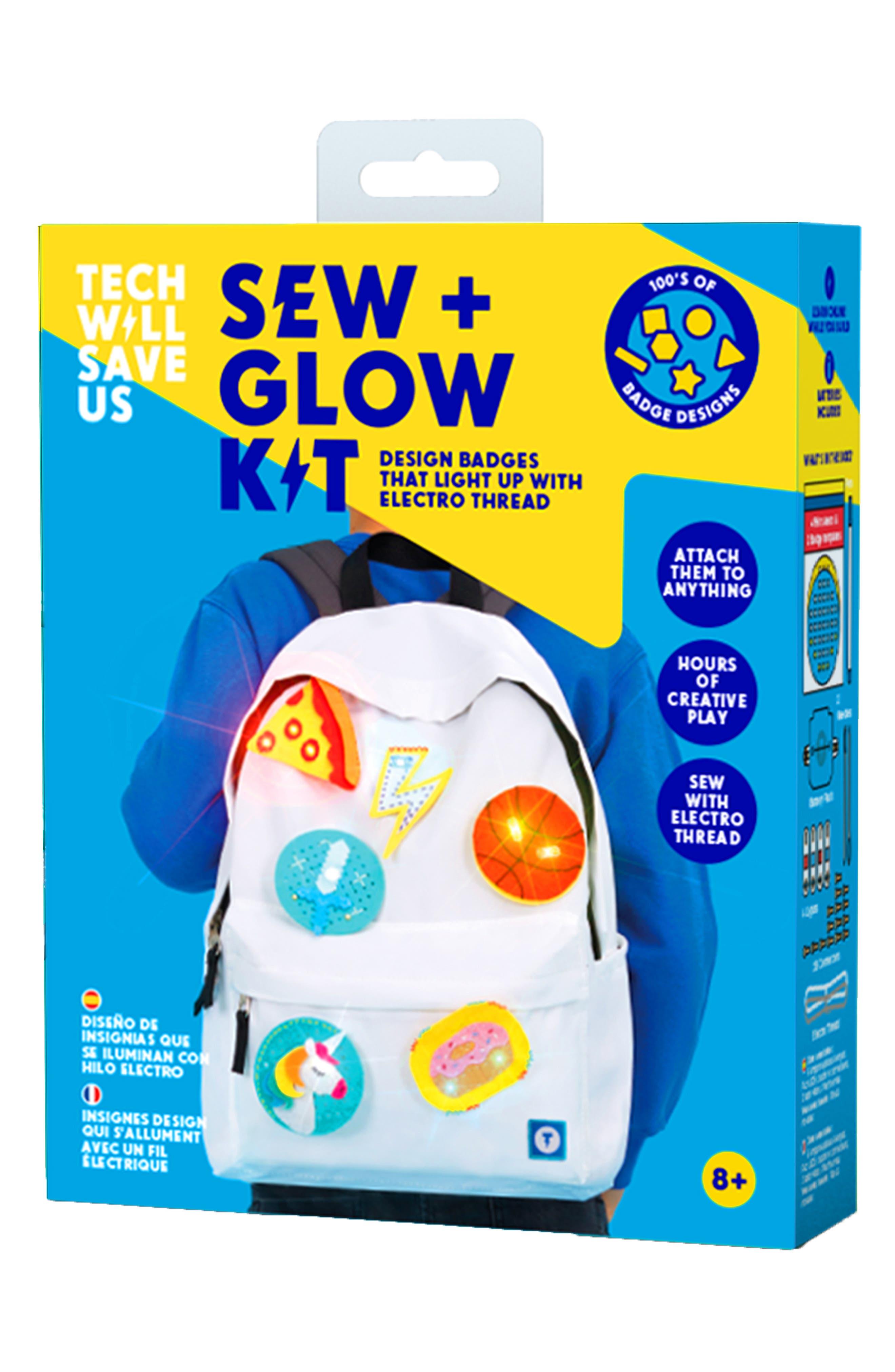 Technology Will Save Us Sew  Glow Craft Kit