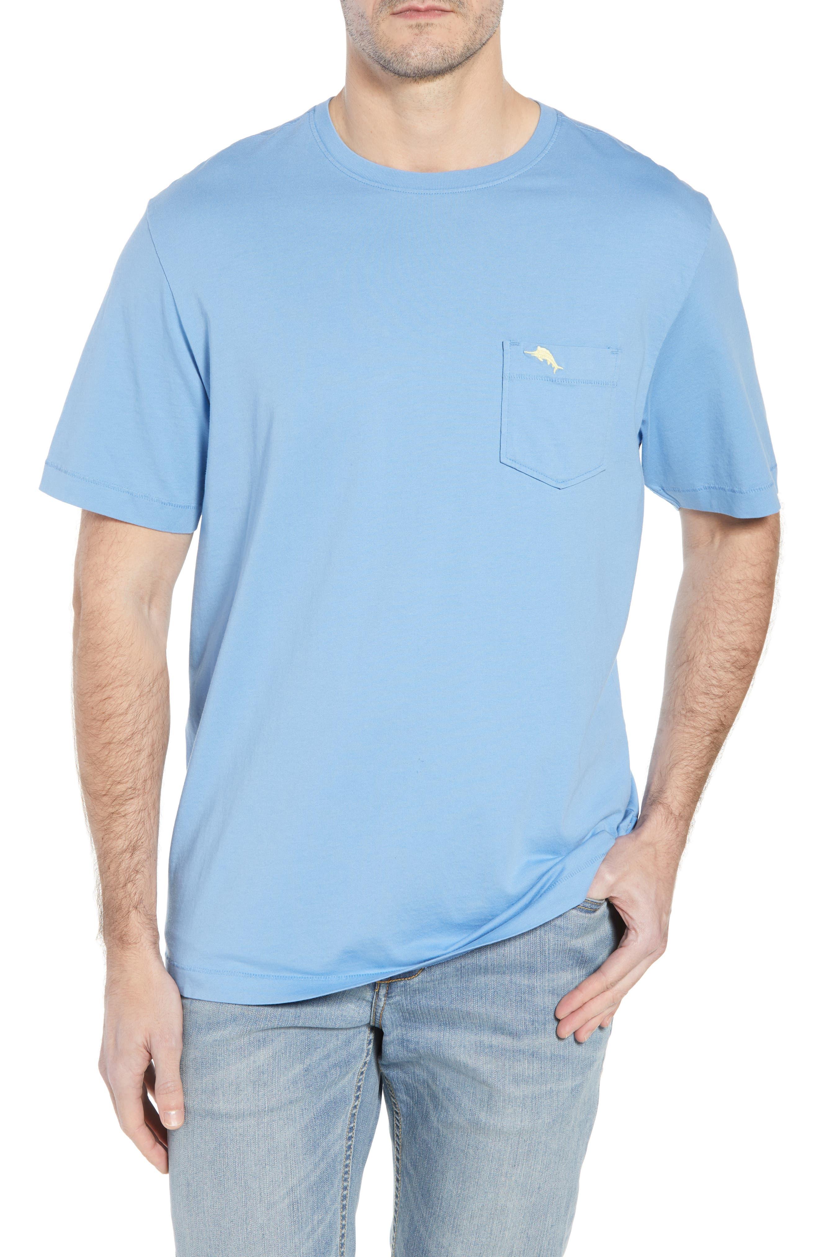 New Bali Sky Pima Cotton Pocket T-Shirt,                             Main thumbnail 3, color,