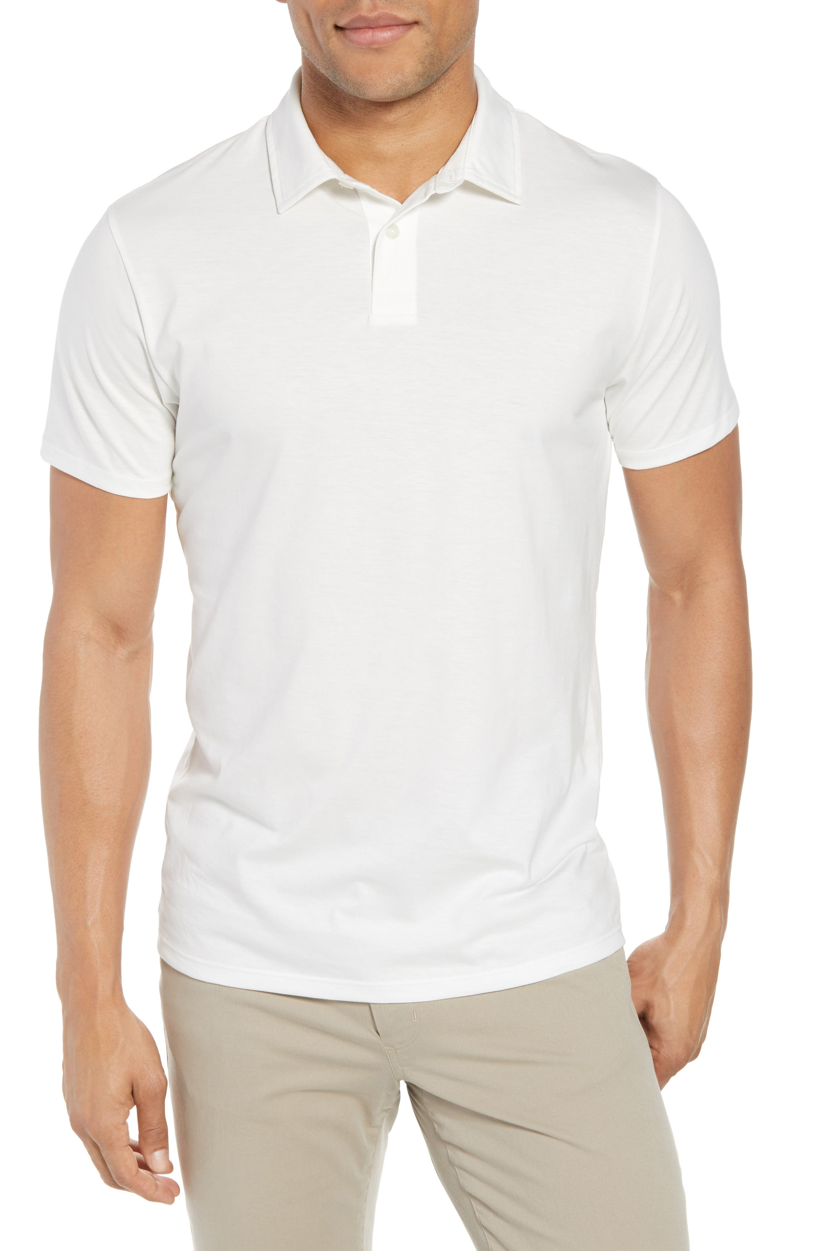 Refined Jersey Polo,                             Main thumbnail 3, color,