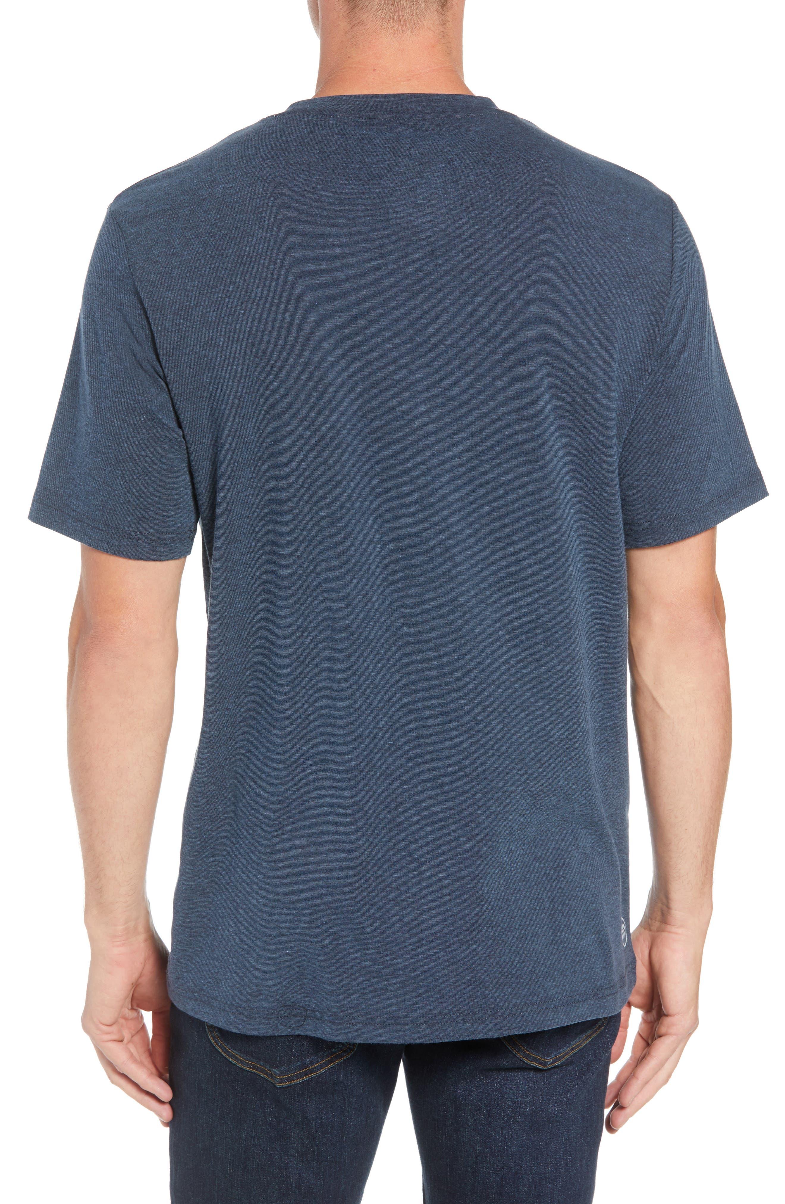 Laze T-Shirt,                             Alternate thumbnail 2, color,                             TRUE NAVY/ BLACK