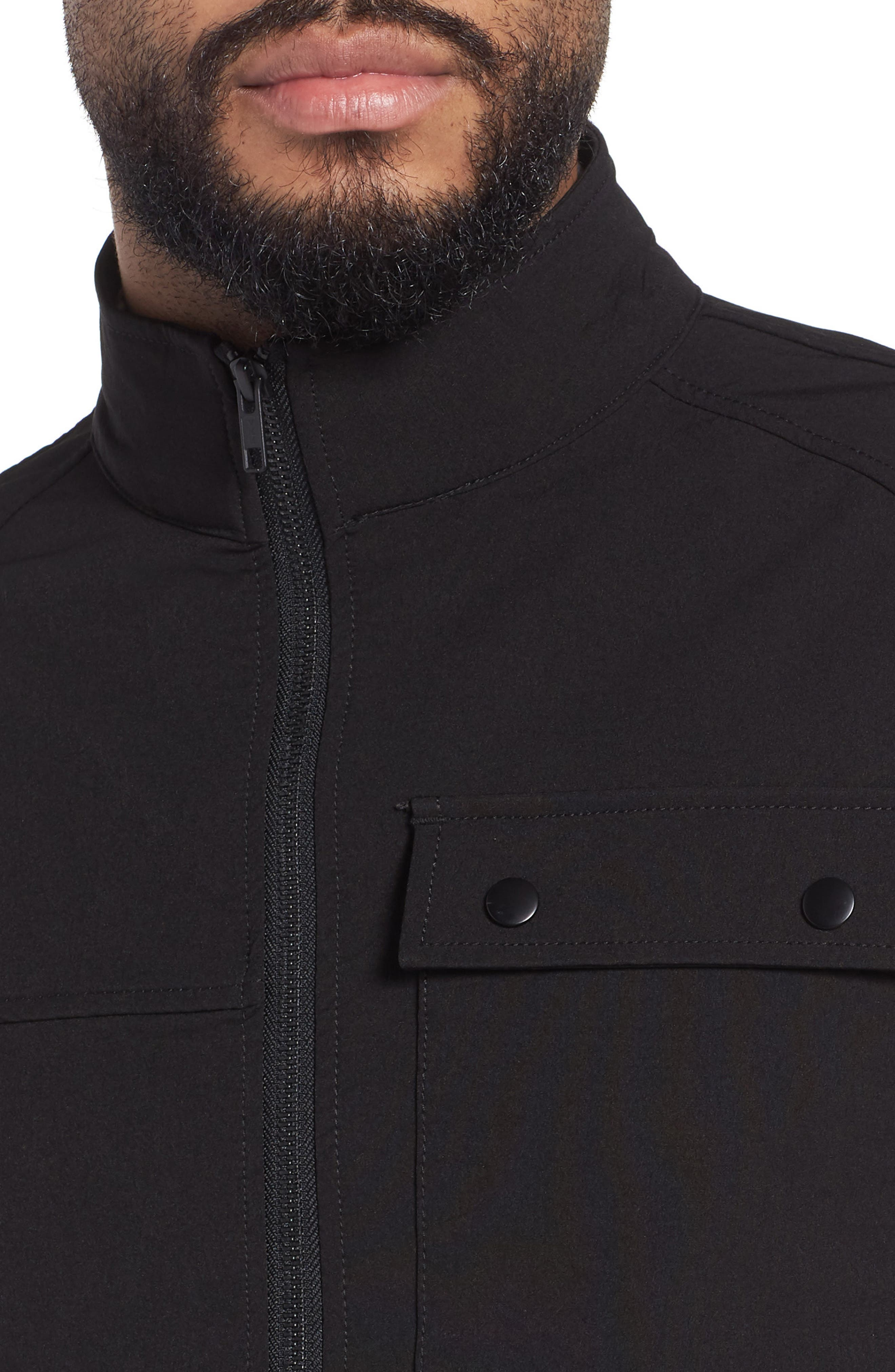 Tech Jacket,                             Alternate thumbnail 4, color,                             001