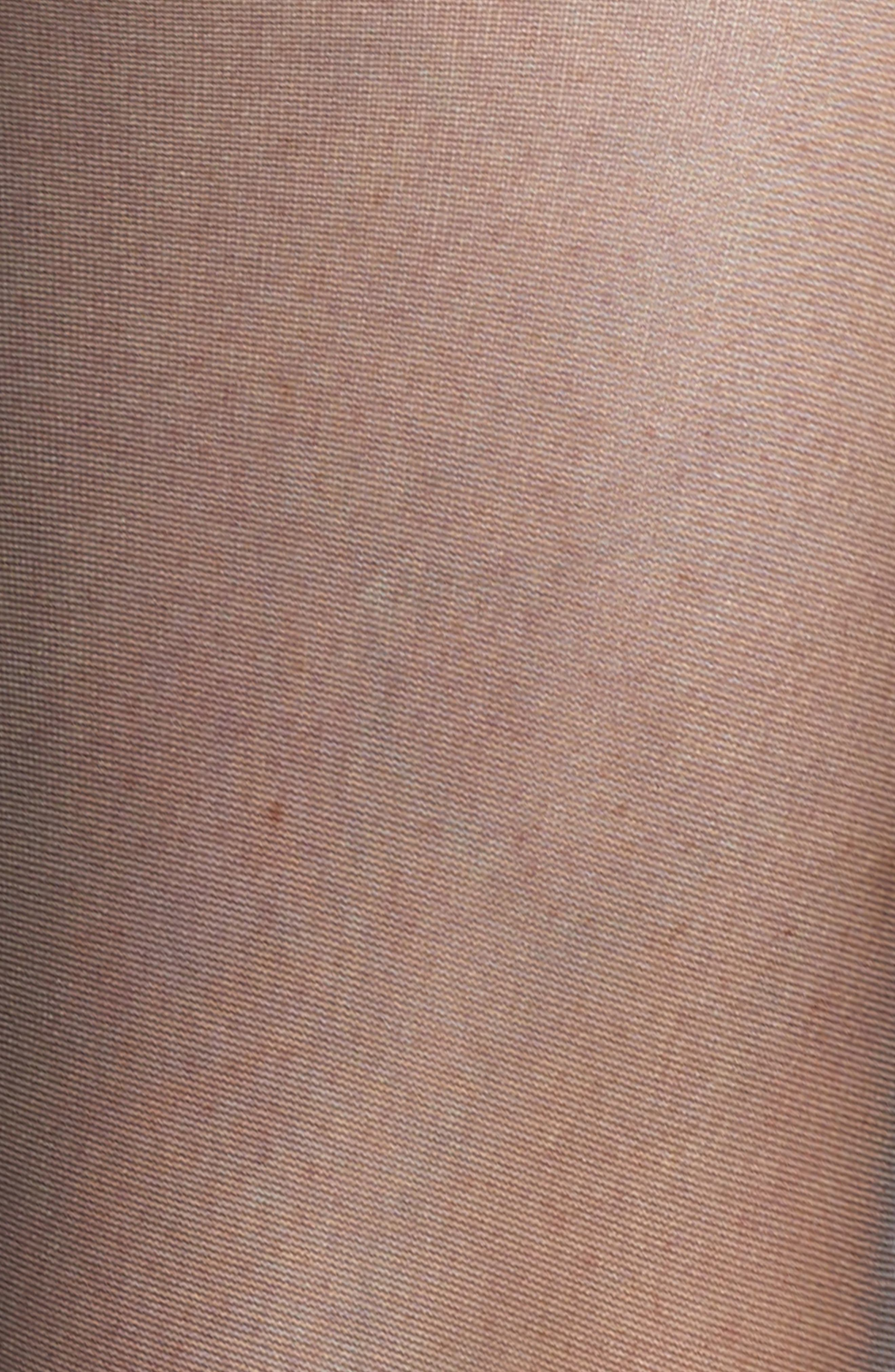 'Pure Matt 20' Stay-Up Stockings,                             Alternate thumbnail 2, color,                             BLACK