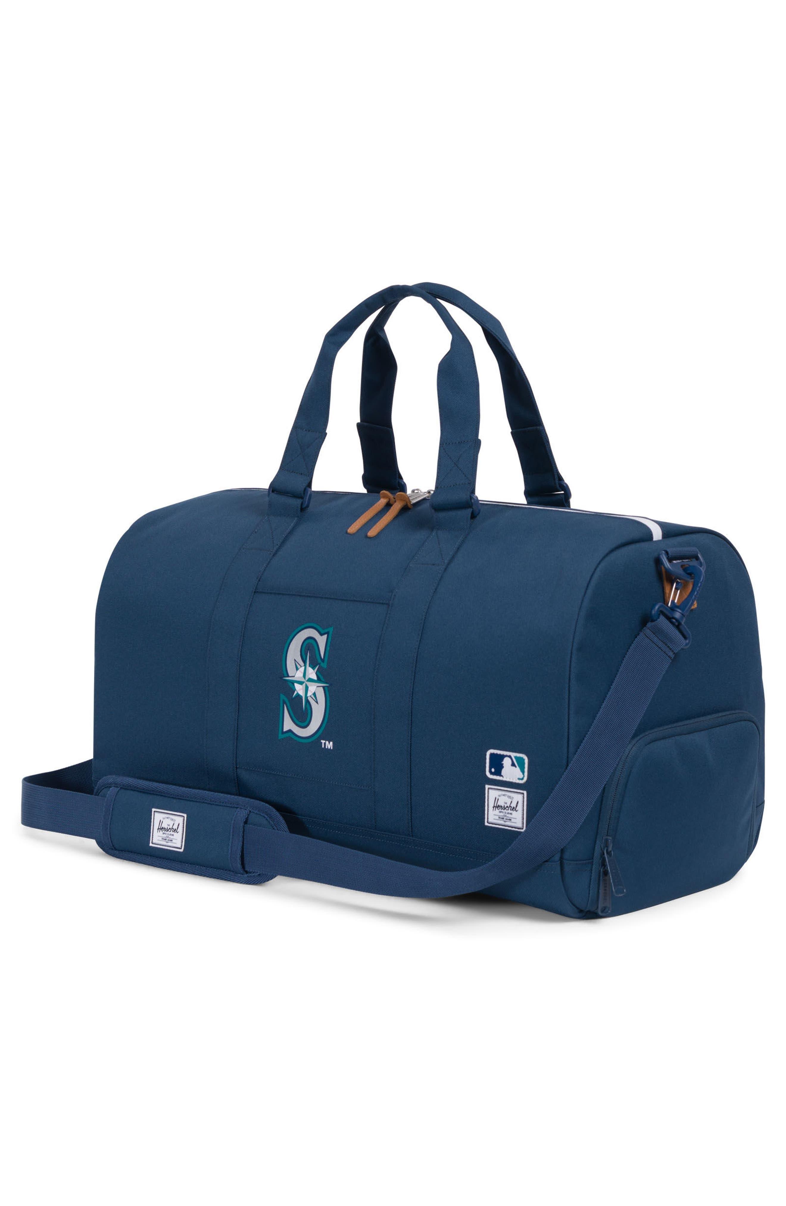Novel - MLB American League Duffel Bag,                             Alternate thumbnail 3, color,                             SEATTLE MARINERS