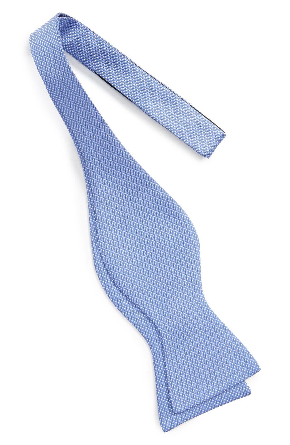 Dot Silk Bow Tie,                             Alternate thumbnail 16, color,