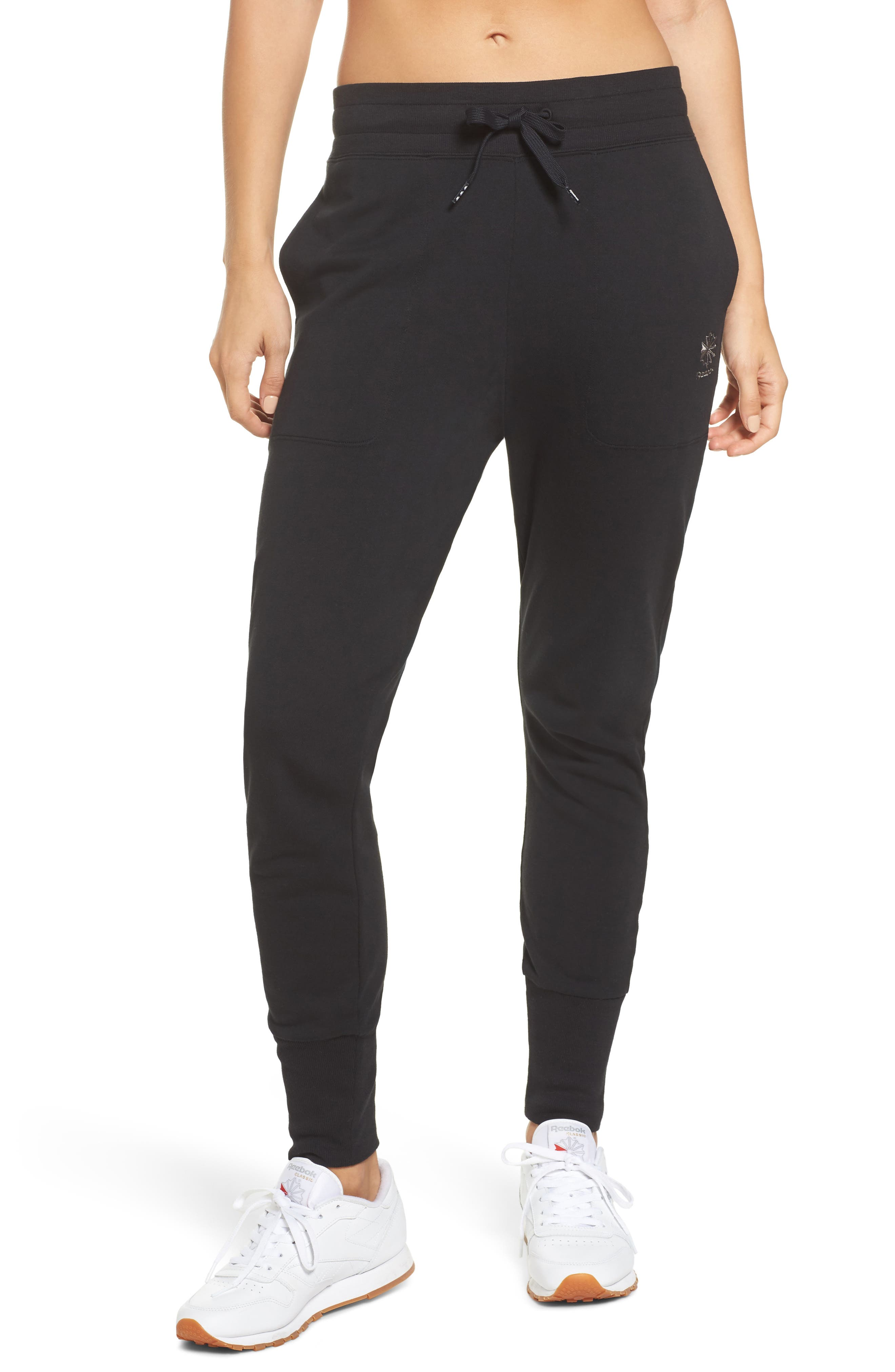 French Terry Jogger Pants,                         Main,                         color,