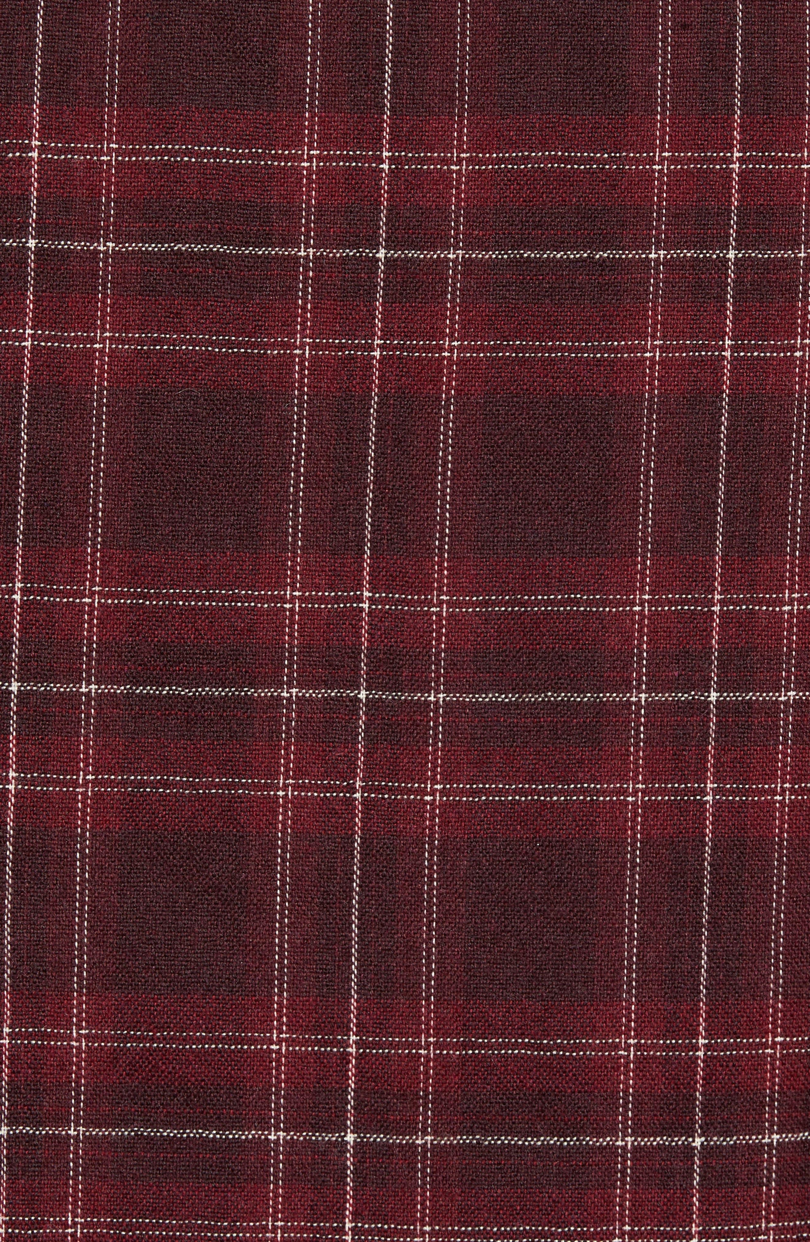 Reversible Zip Front Shirt Jacket,                             Alternate thumbnail 6, color,