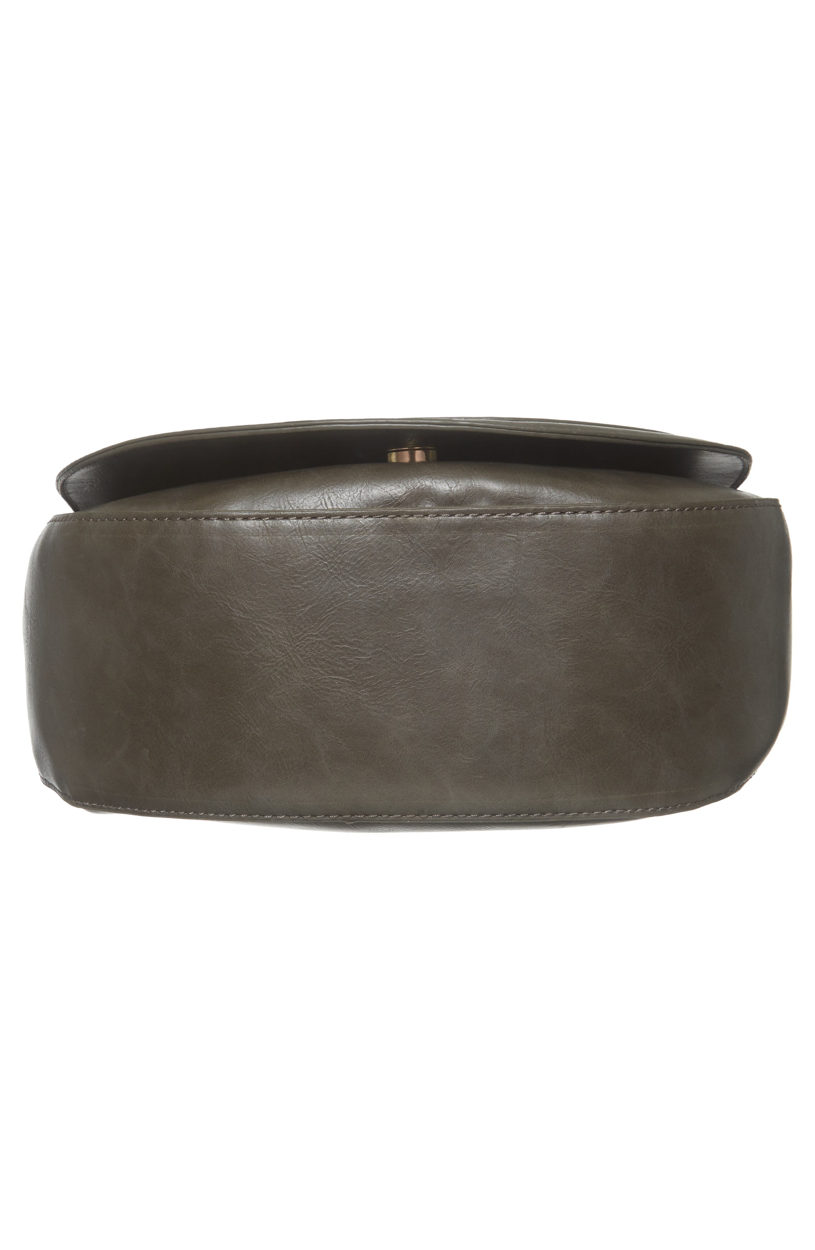 Piri Faux Leather Saddle Bag,                             Alternate thumbnail 17, color,