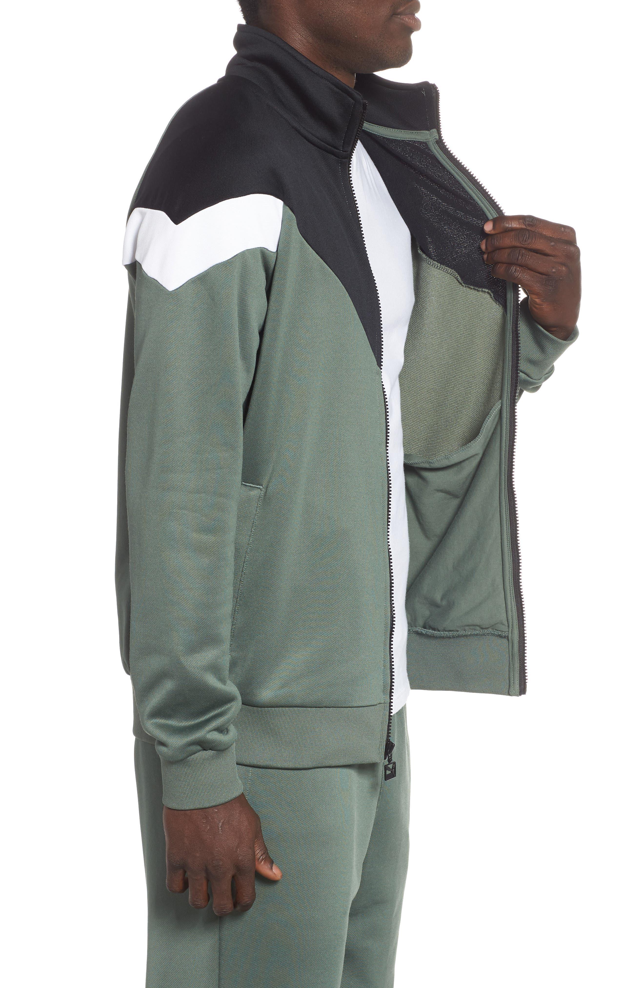 MCS Track Jacket,                             Alternate thumbnail 3, color,                             LAUREL WREATH