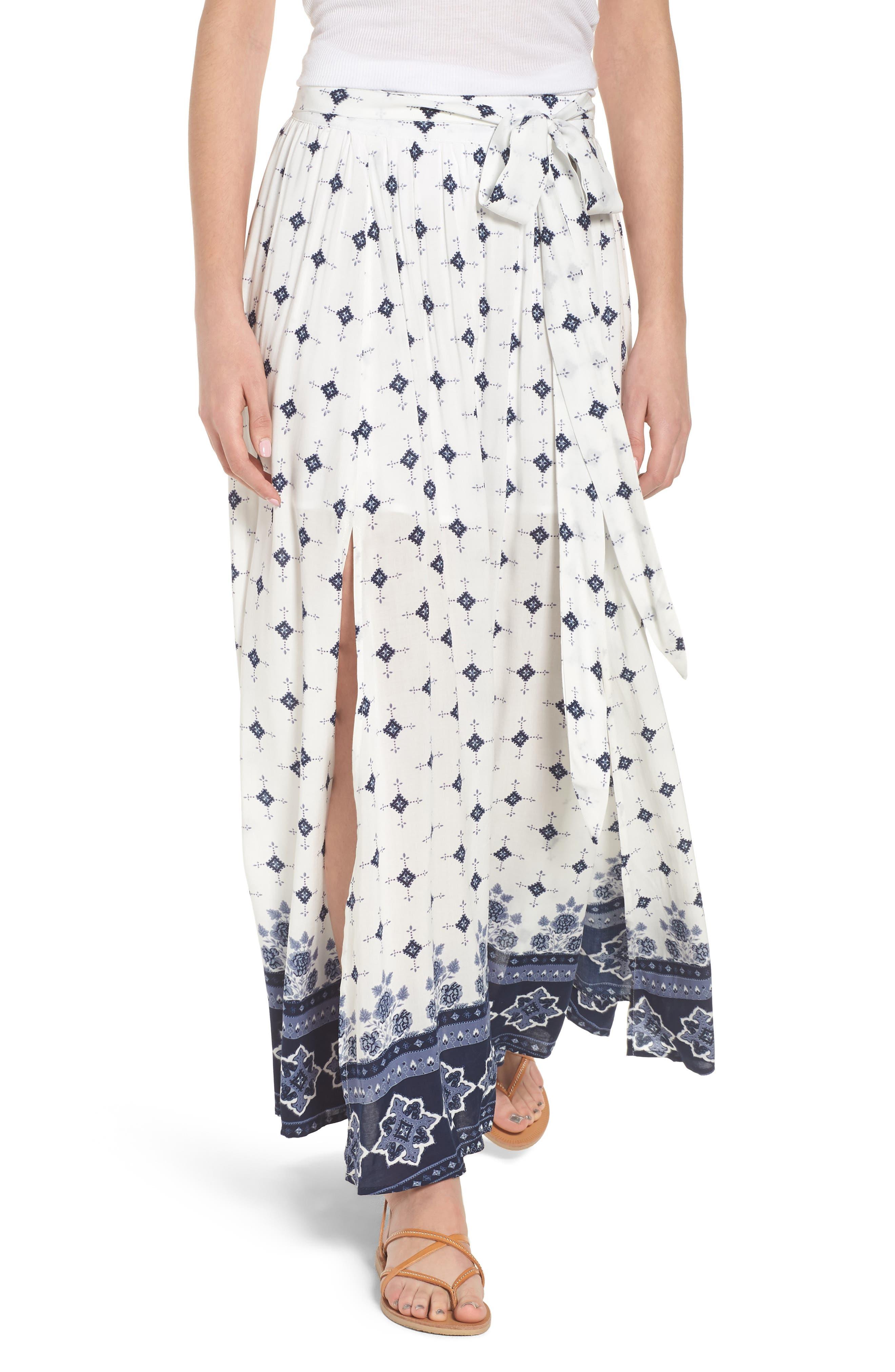 Morning Tides Maxi Skirt,                         Main,                         color,