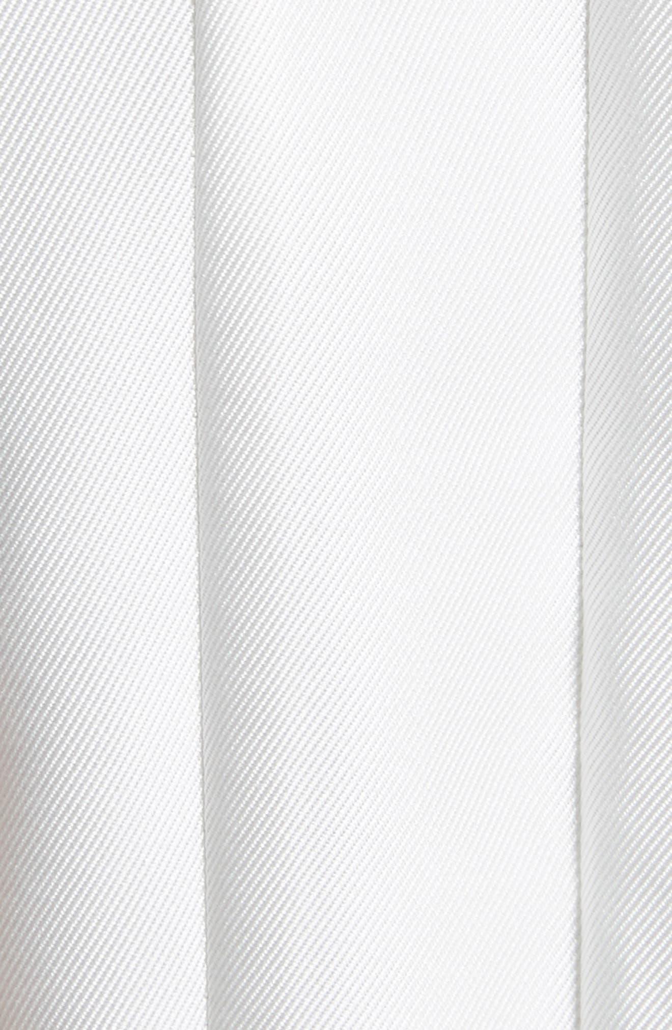 Bow Neck Skater Dress,                             Alternate thumbnail 10, color,