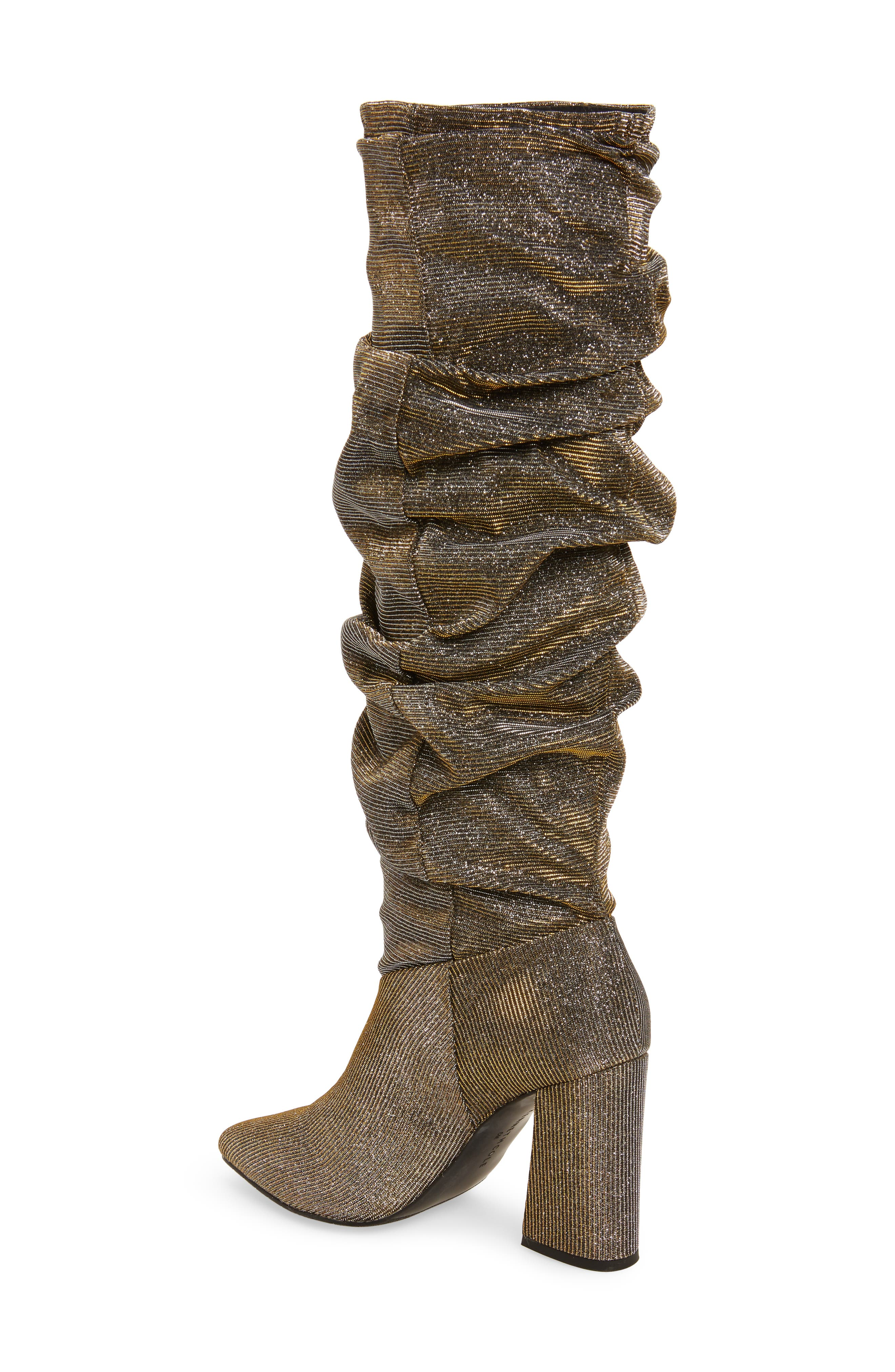 Genevive Slouch Boot,                             Alternate thumbnail 4, color,