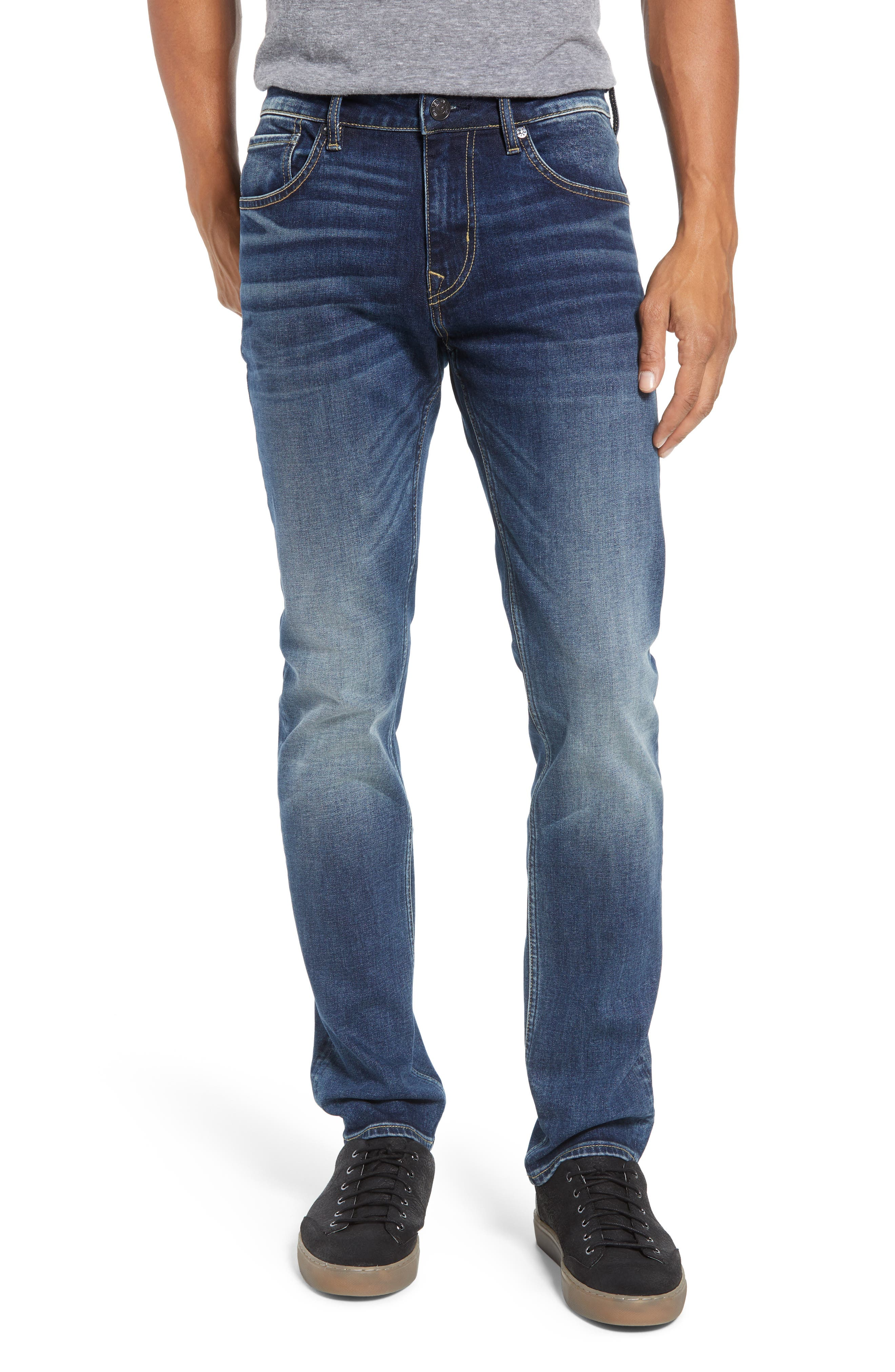 Slim Fit Jeans,                             Main thumbnail 1, color,                             PURE BLUE