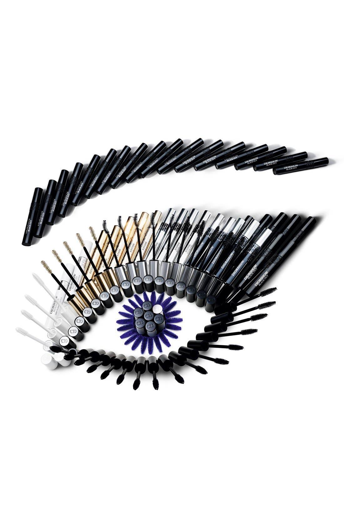 Diorshow - Iconic Overcurl Spectacular Volume & Curl Mascara,                             Alternate thumbnail 2, color,                             BLACK 090