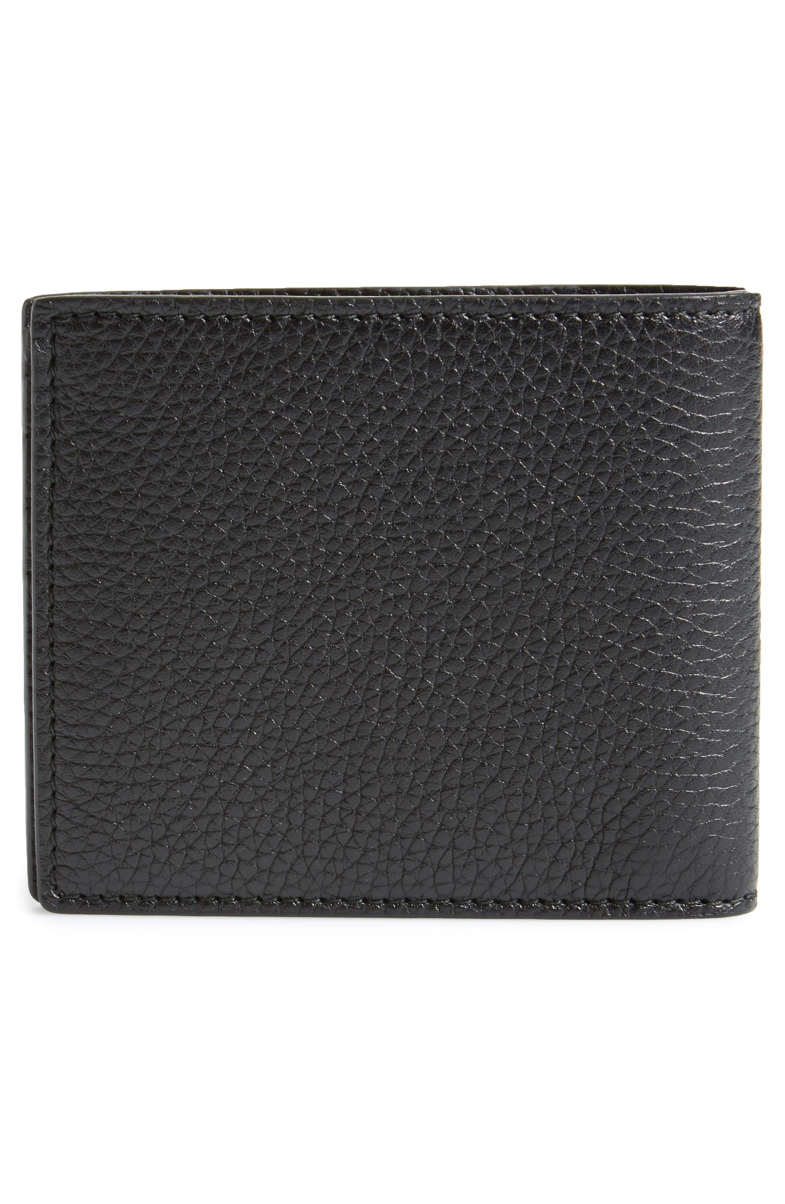 Dragon Leather Wallet,                             Alternate thumbnail 3, color,                             001