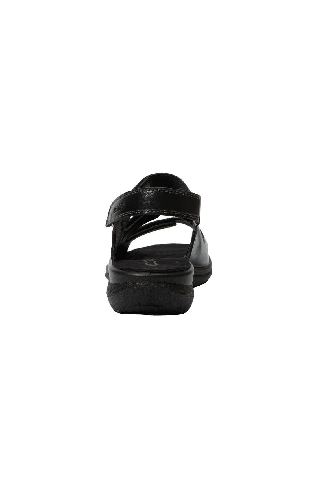 'Breeze' Sandal,                             Alternate thumbnail 4, color,                             001