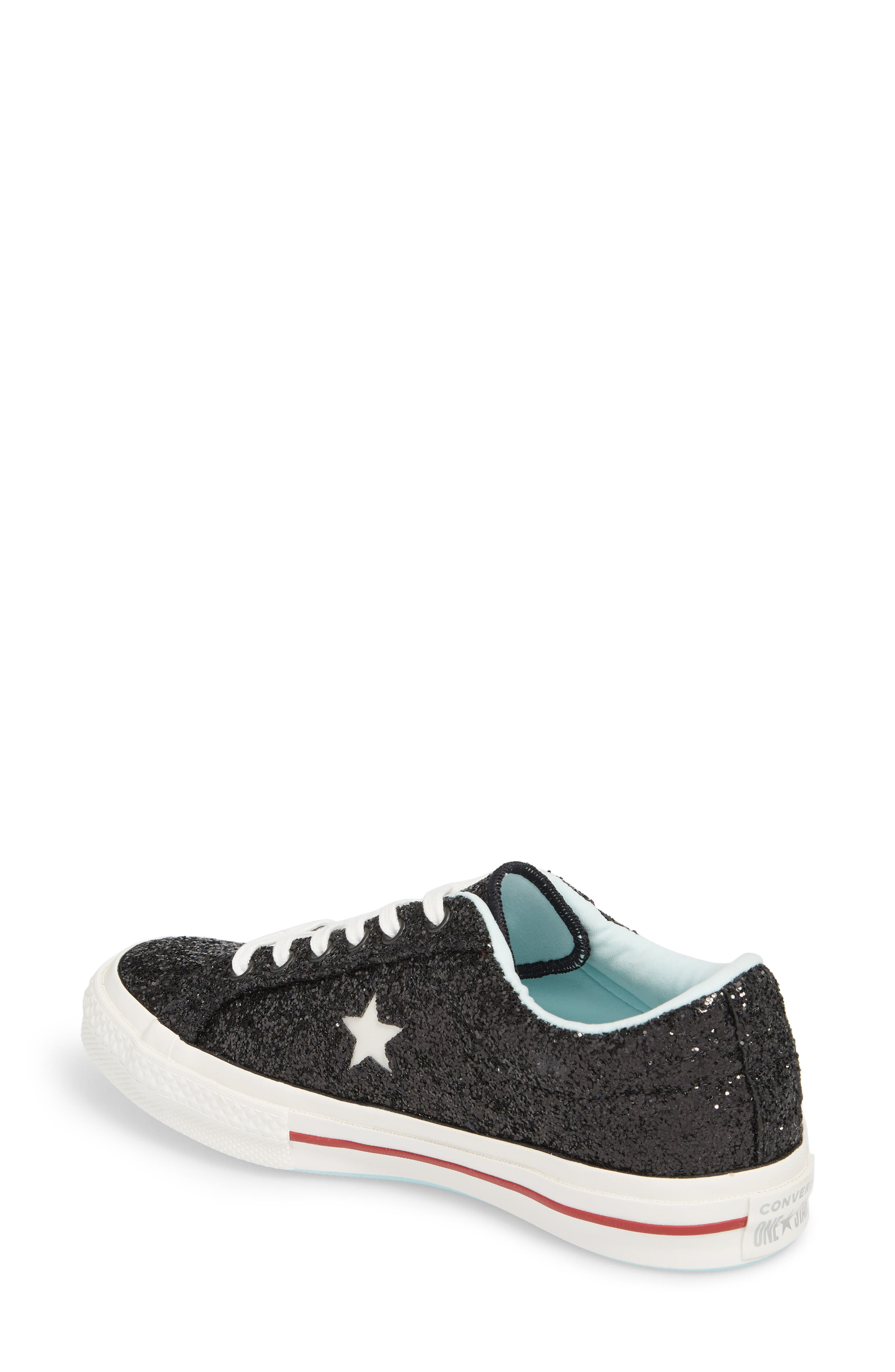 x Chiara Ferragni One Star Ox Sneaker,                             Alternate thumbnail 2, color,                             001