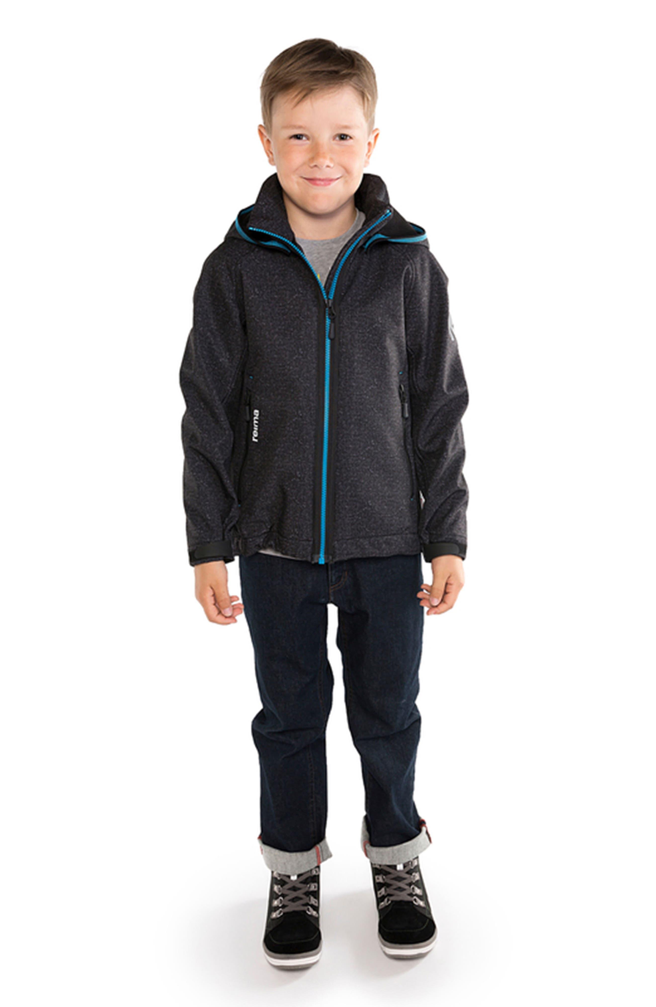 Zayak Waterproof Hooded Jacket,                             Alternate thumbnail 3, color,                             020