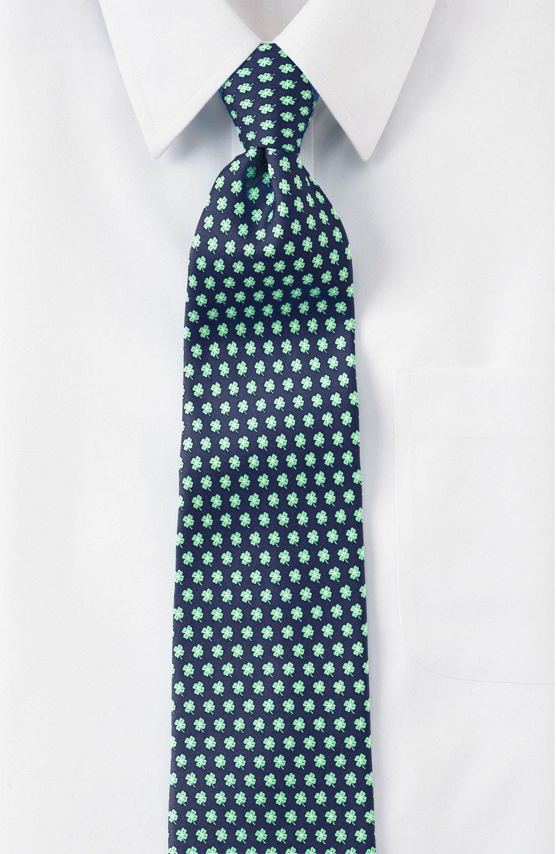 Print Silk Tie,                         Main,                         color,