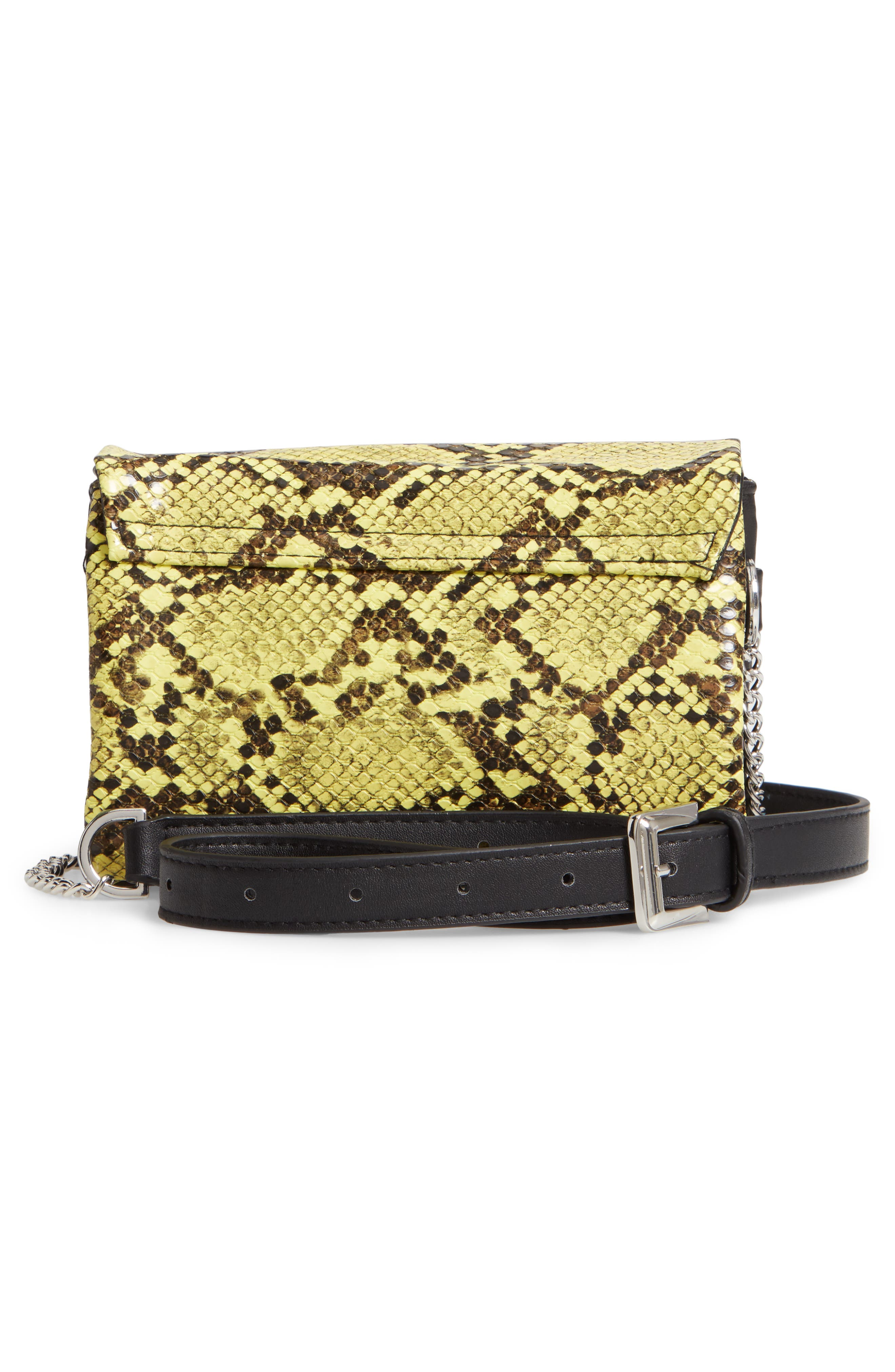 TOPSHOP,                             Beau Belt Bag,                             Alternate thumbnail 3, color,                             700