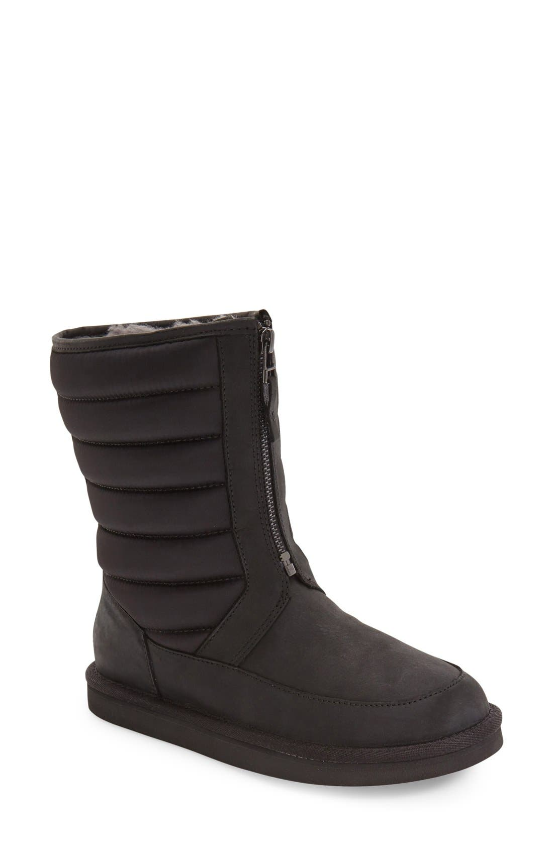UGG<SUP>®</SUP> Zaire Water Resistant Boot, Main, color, 001