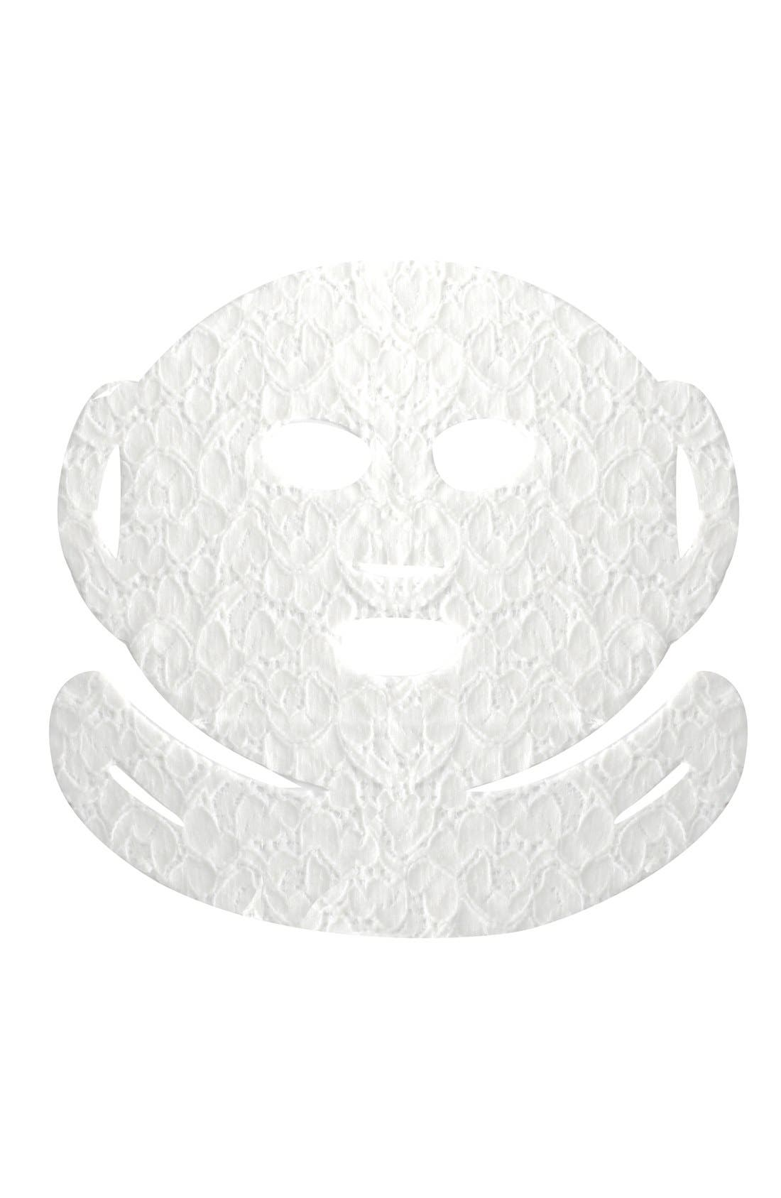 Lace Your Face Chamomile Calming Compression Facial Mask,                             Alternate thumbnail 4, color,                             NONE