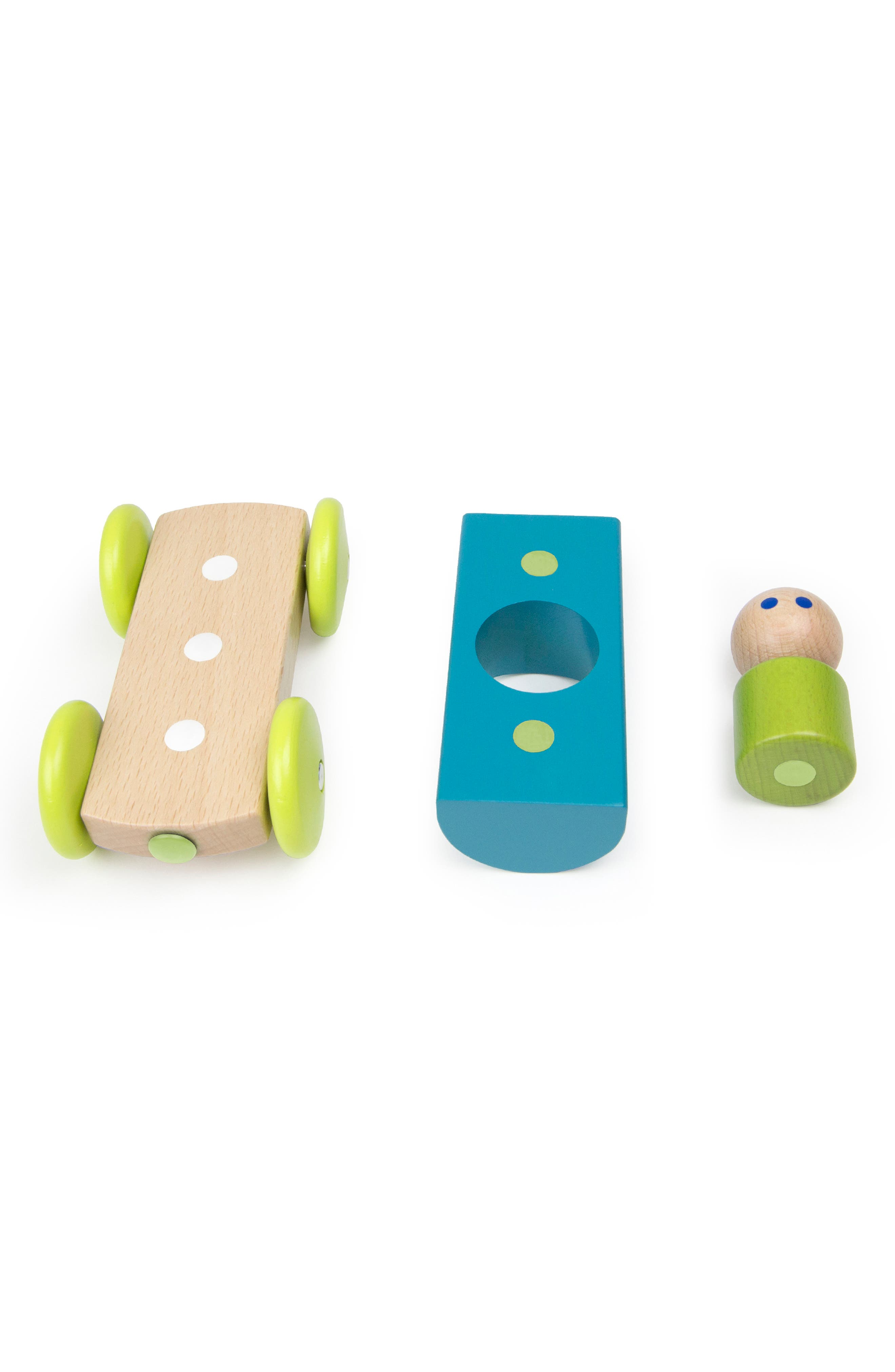 Half Pipe Magnetic Racer Toy,                             Alternate thumbnail 3, color,                             960