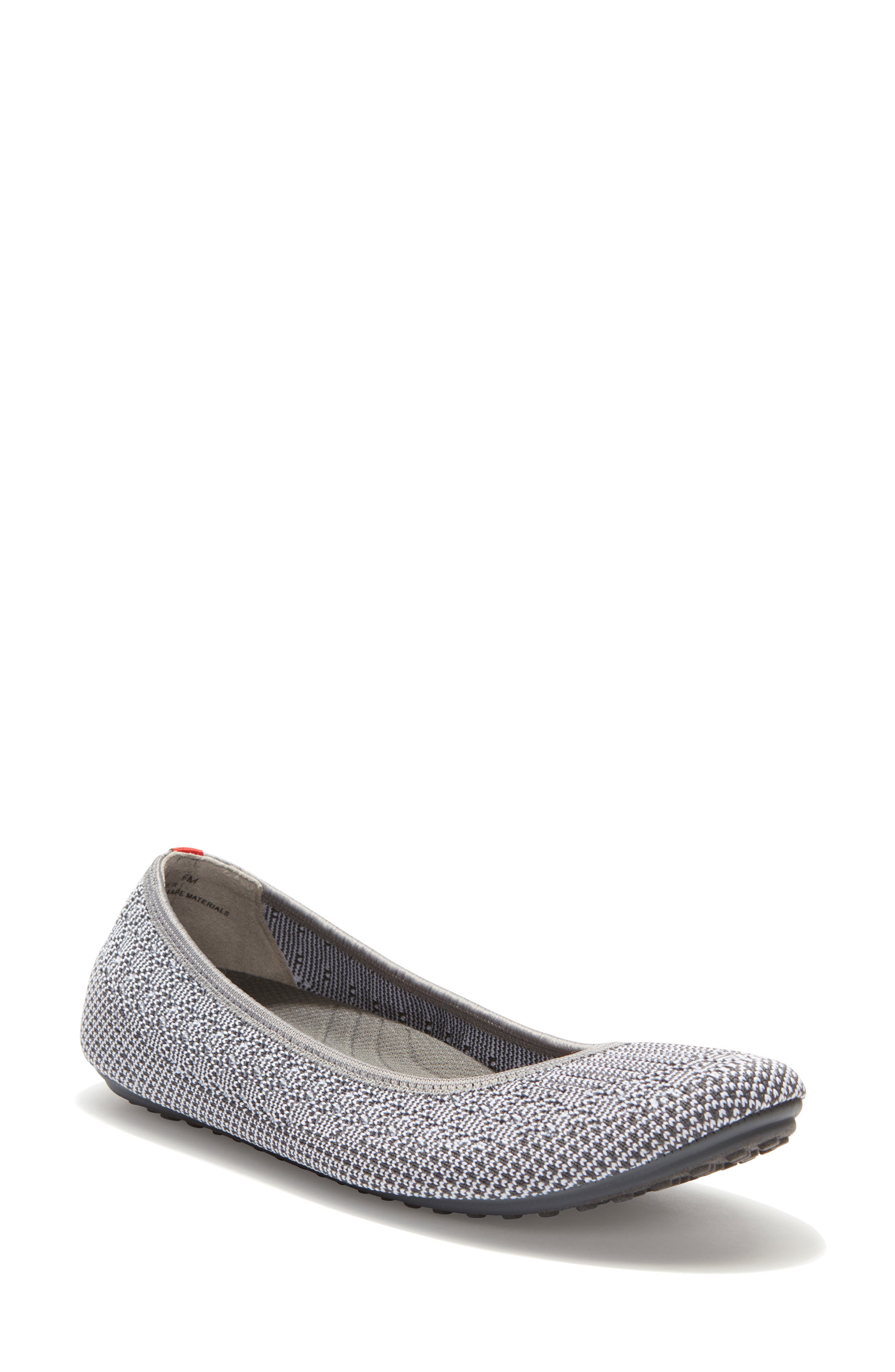 Adam Tucker Kaila Ballet Flat, Grey