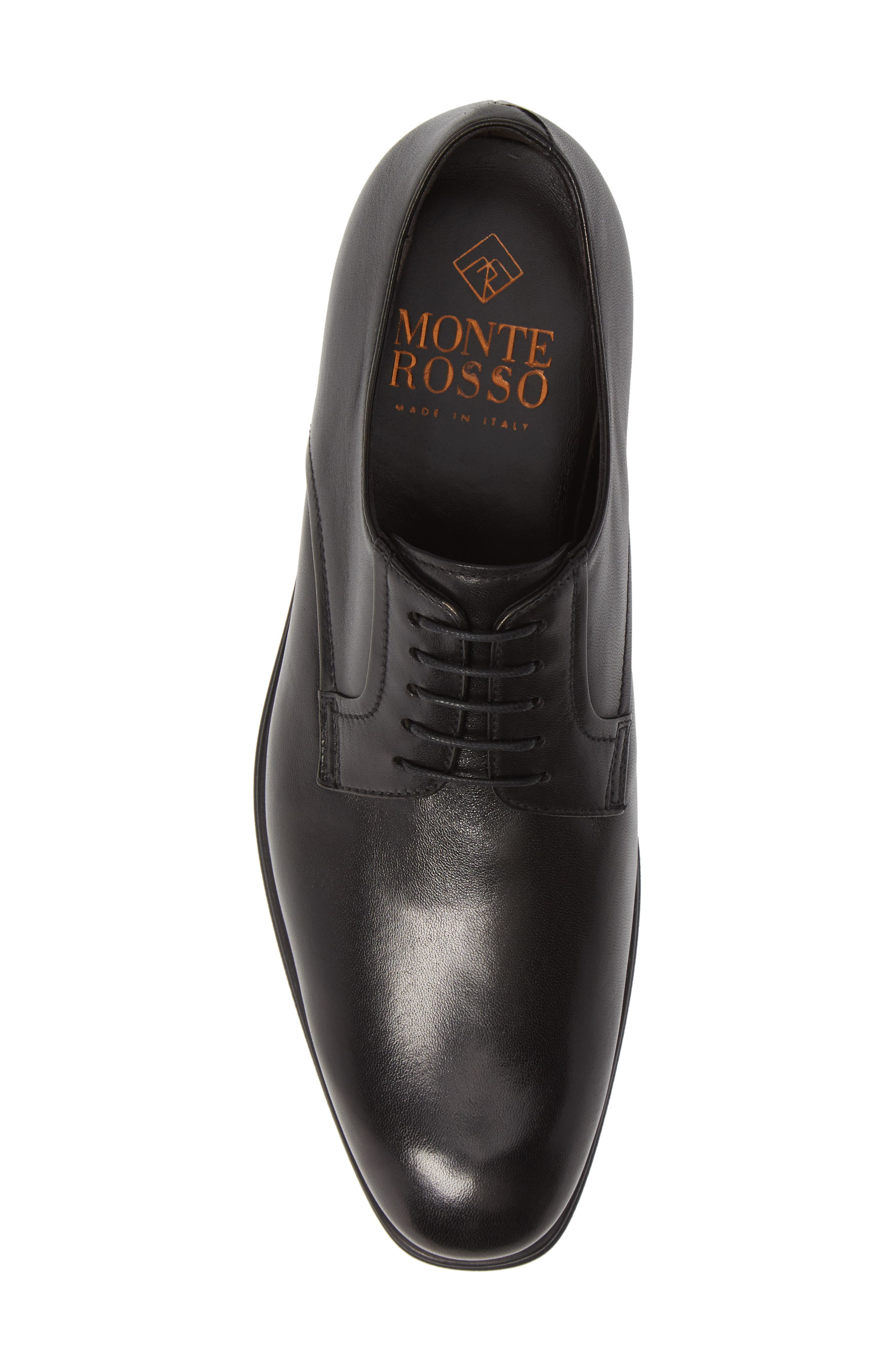 MS Zurich Oxford,                             Alternate thumbnail 5, color,                             BLACK LEATHER