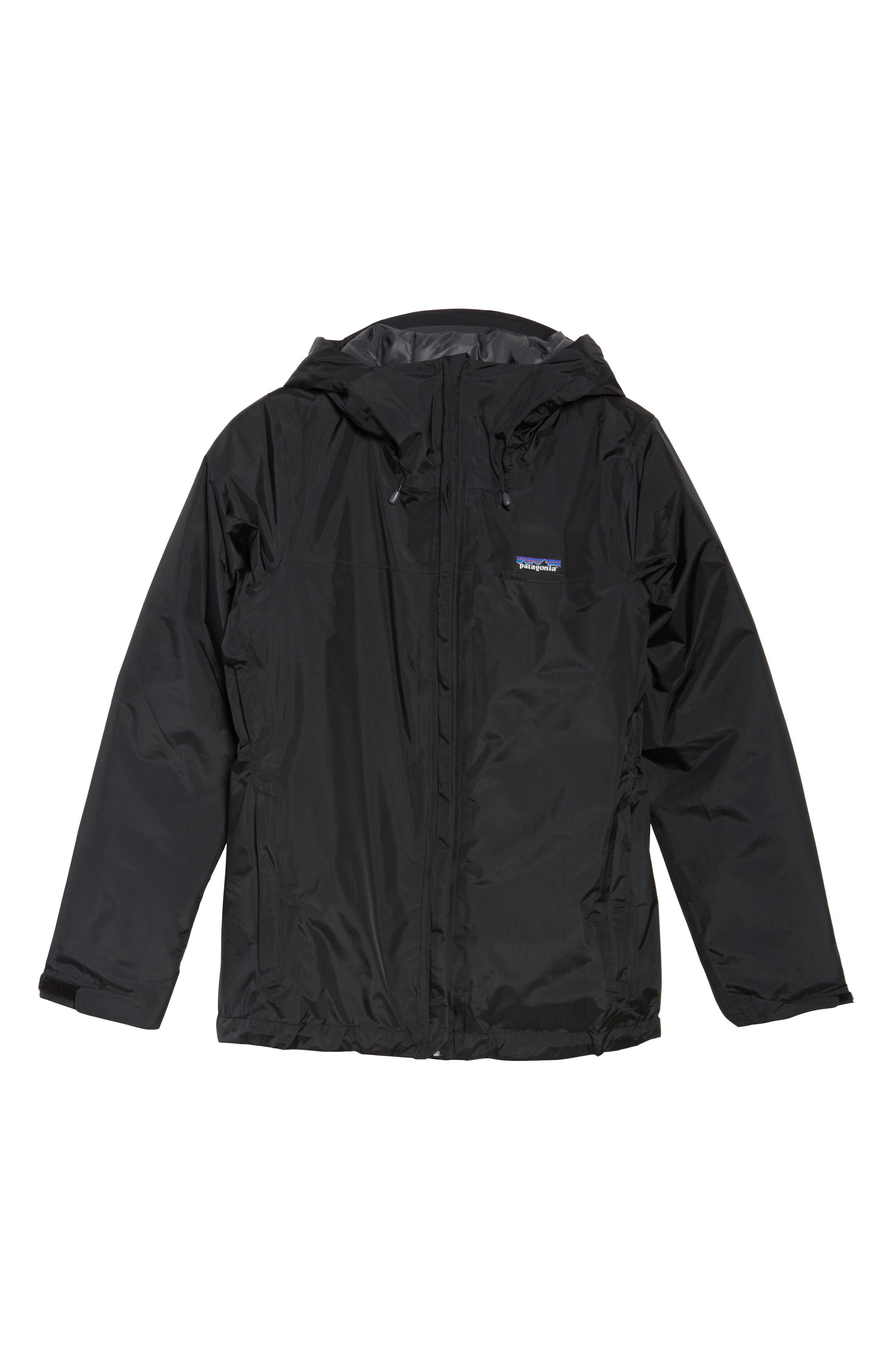 Torrentshell Packable Waterproof Insulated Jacket,                             Alternate thumbnail 6, color,                             BLACK