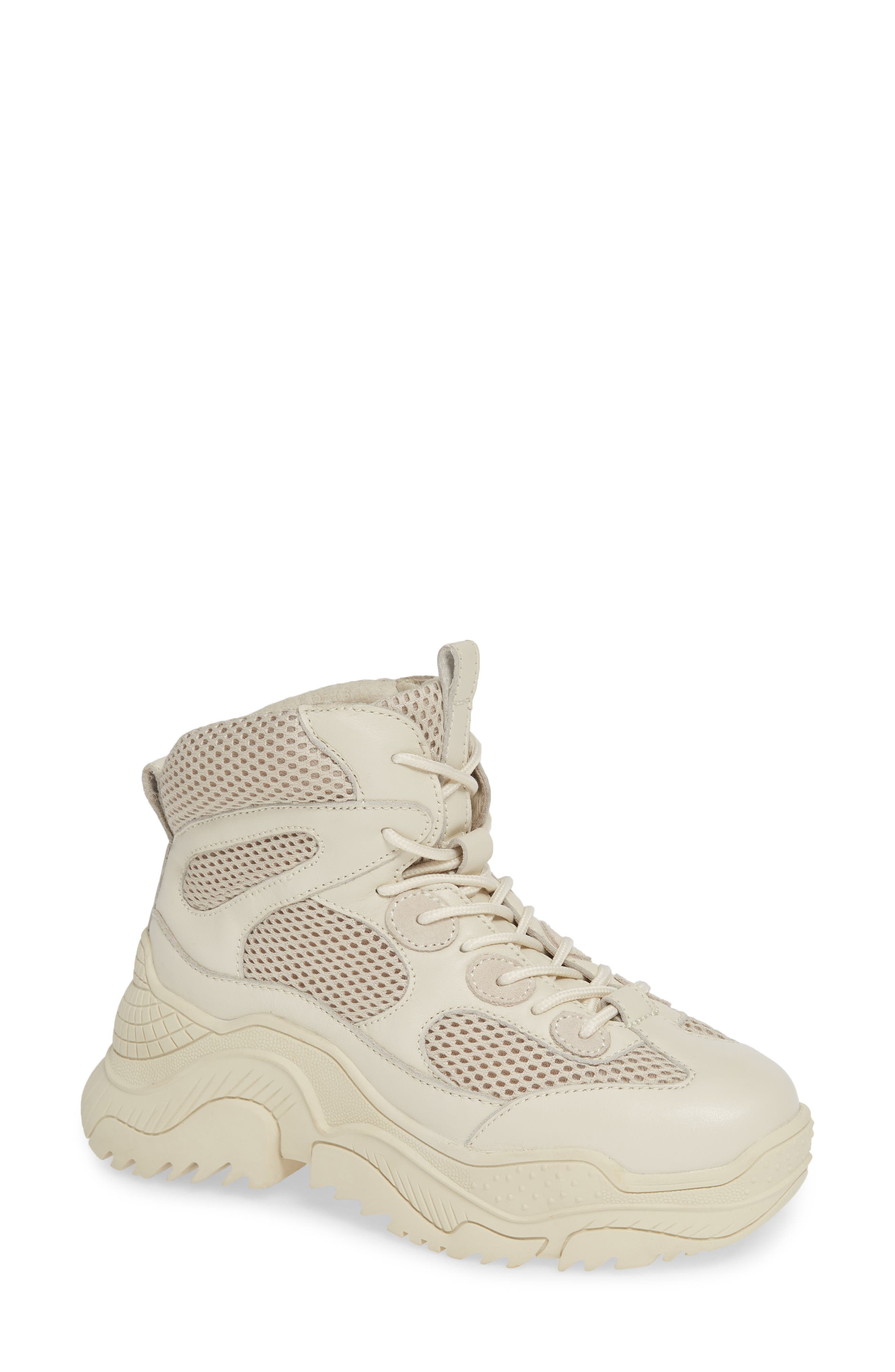 Pyro Wedge Sneaker Boot,                             Main thumbnail 1, color,                             OFF WHITE COMBO