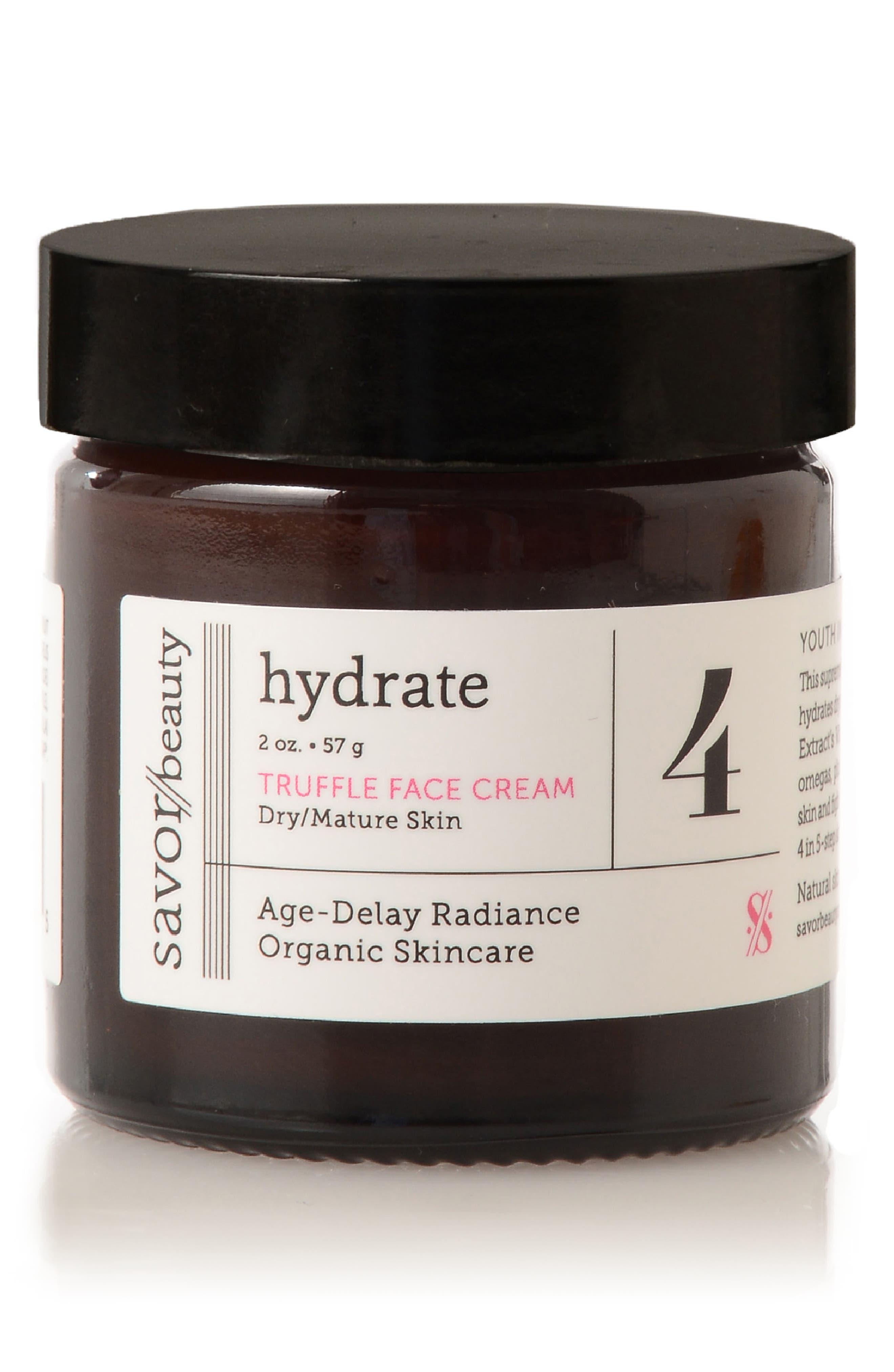 Hydrate Truffle Face Cream,                             Main thumbnail 1, color,                             000