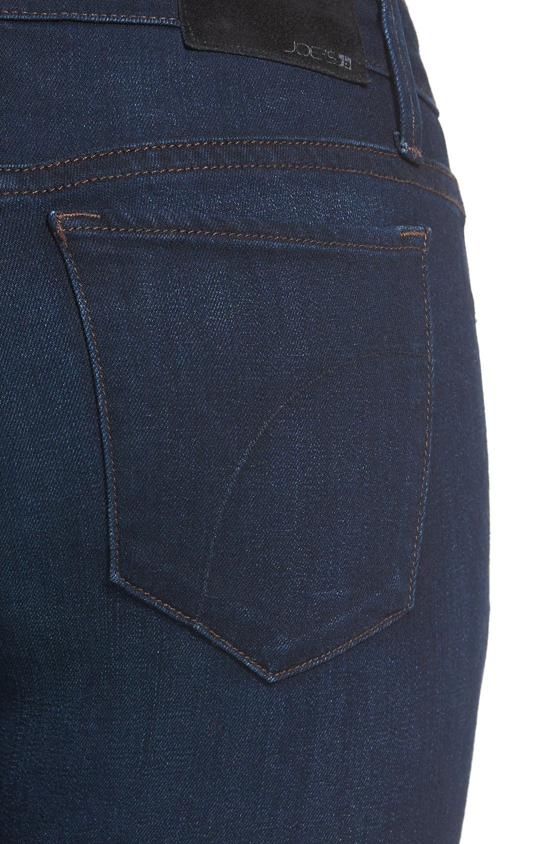 'Icon' Ankle Skinny Jeans,                             Alternate thumbnail 3, color,                             SELMA