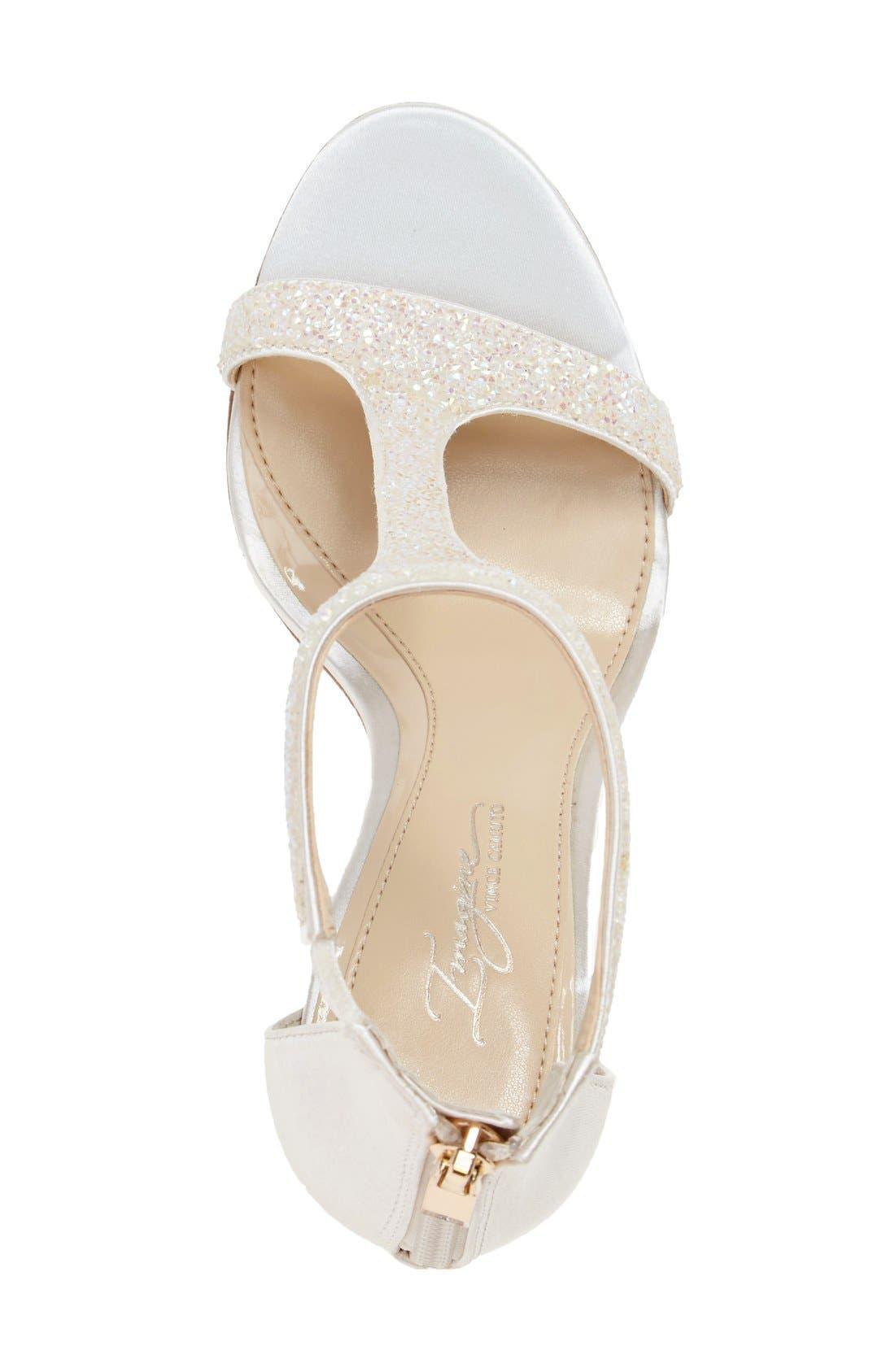 'Phoebe' Embellished T-Strap Sandal,                             Alternate thumbnail 78, color,