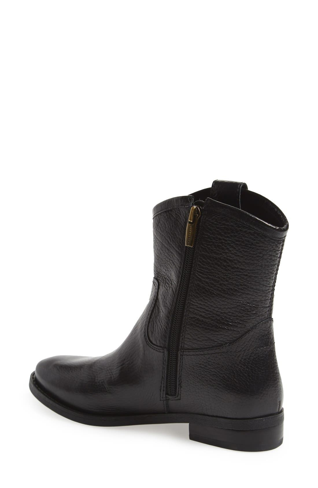 'Payatt' Short Riding Boot,                             Alternate thumbnail 2, color,                             001