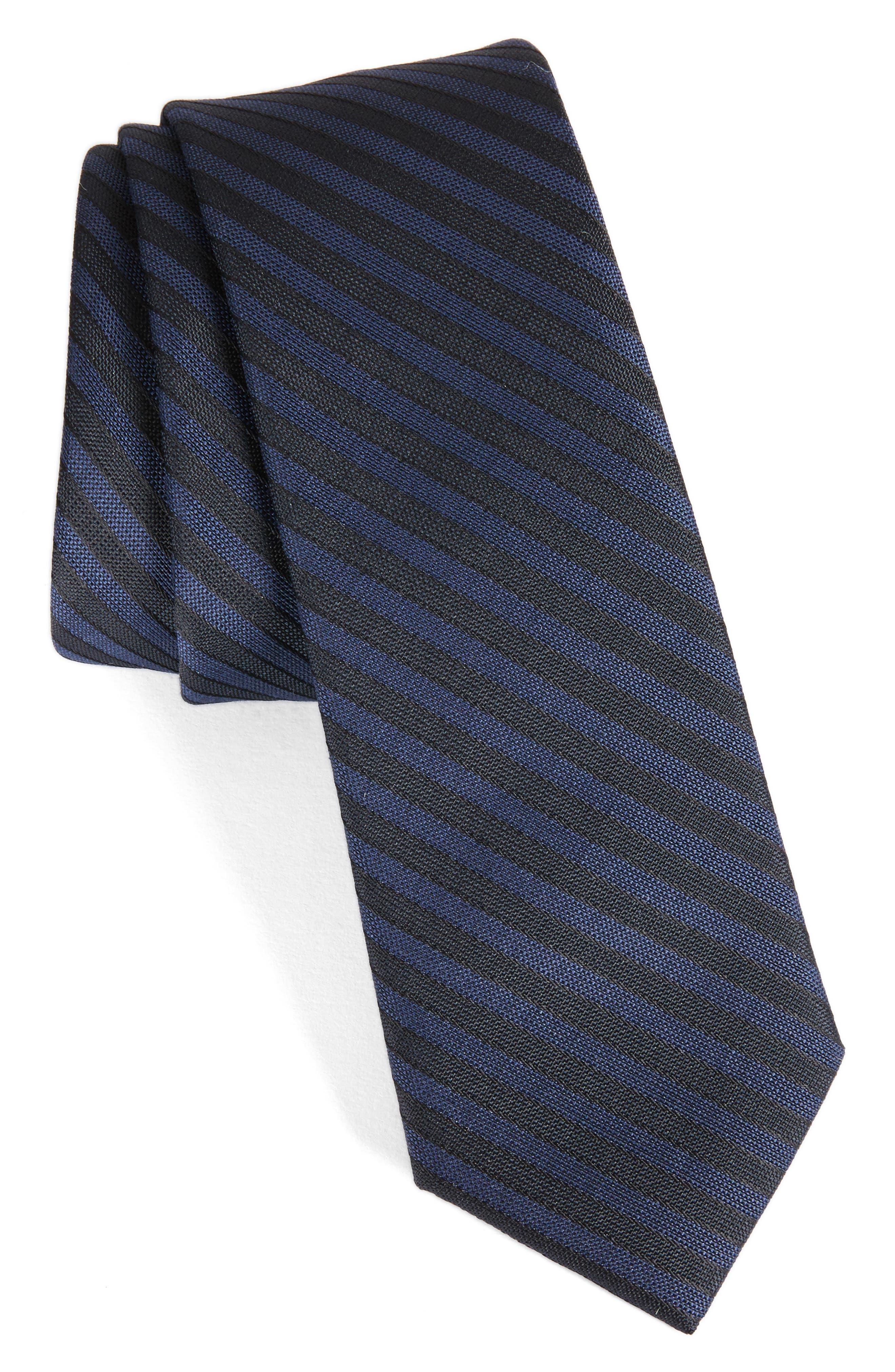 Pop Up Stripe Tie,                         Main,                         color, 001