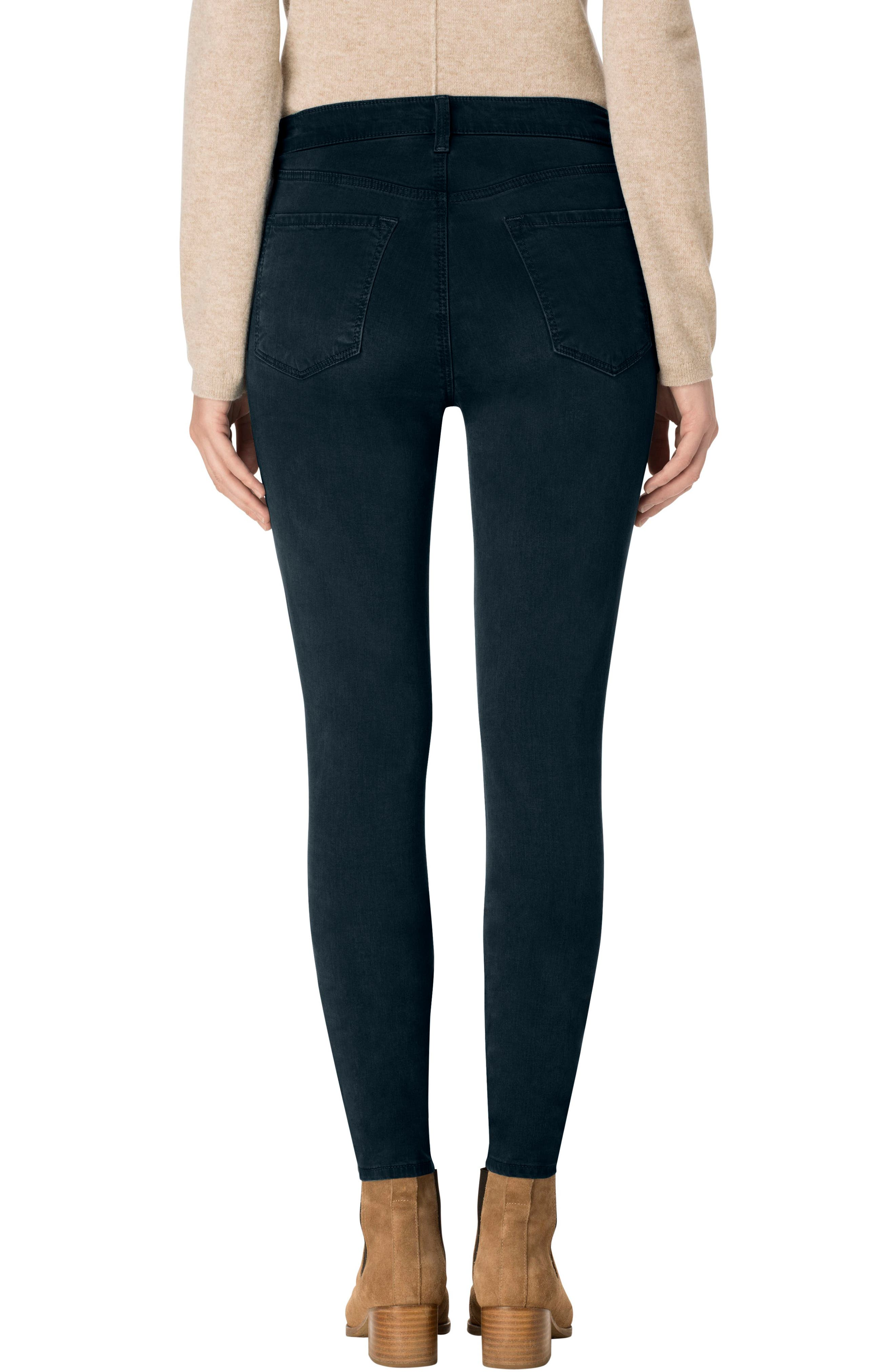 High Waist Ankle Super Skinny Jeans,                             Alternate thumbnail 22, color,
