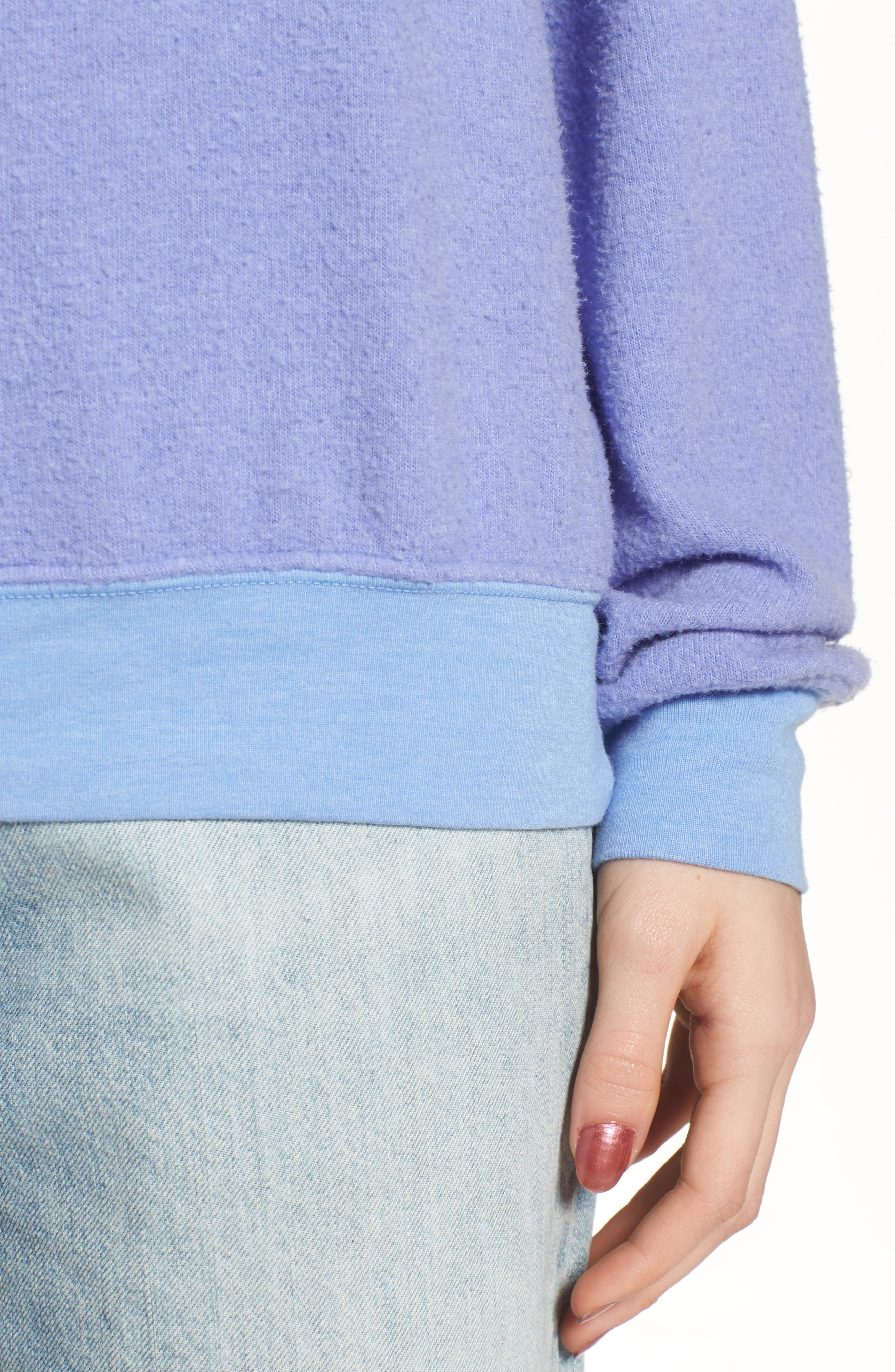 'Baggy Beach Jumper' Pullover,                             Alternate thumbnail 135, color,