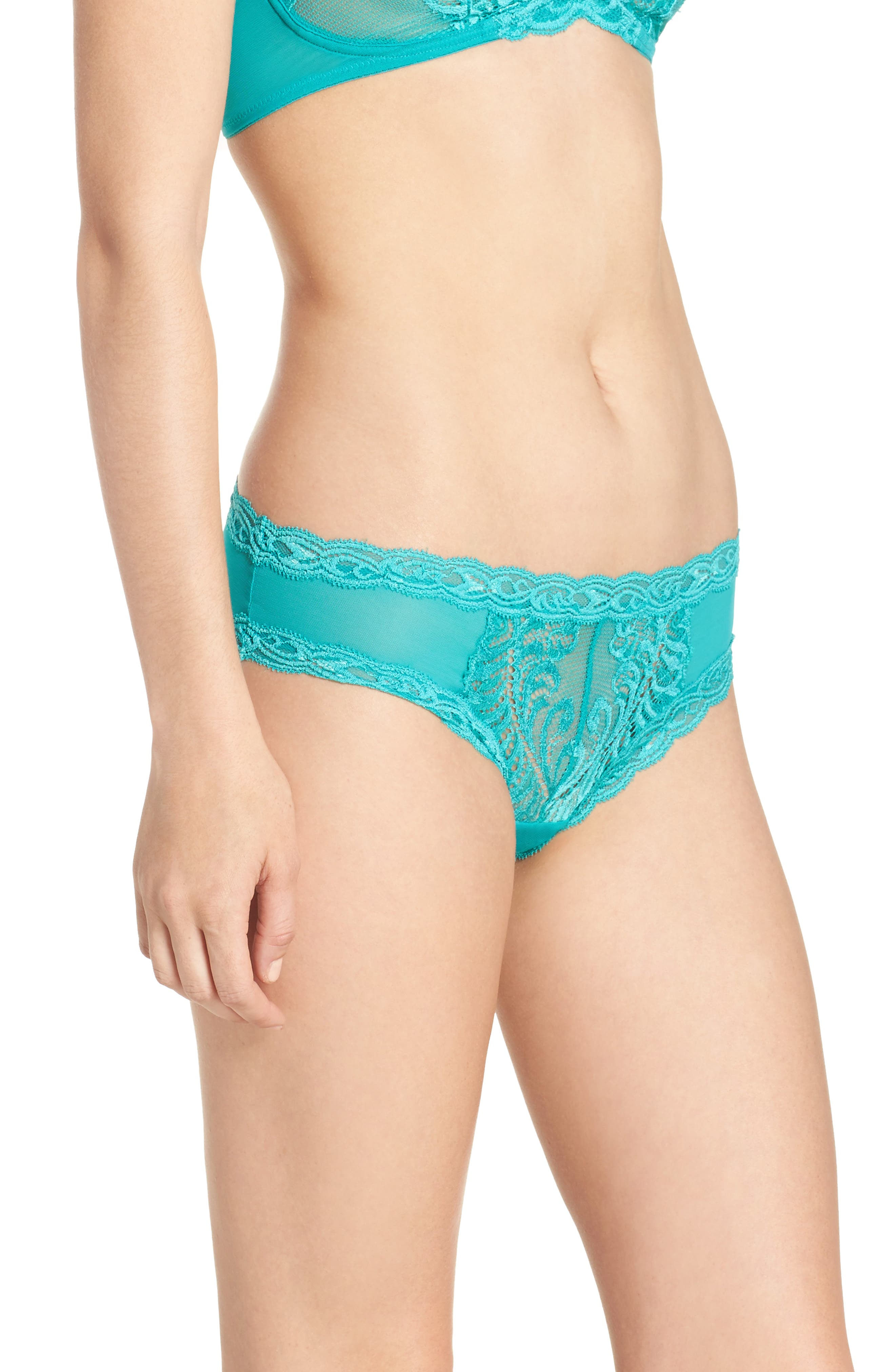Feathers Hipster Briefs,                             Alternate thumbnail 372, color,