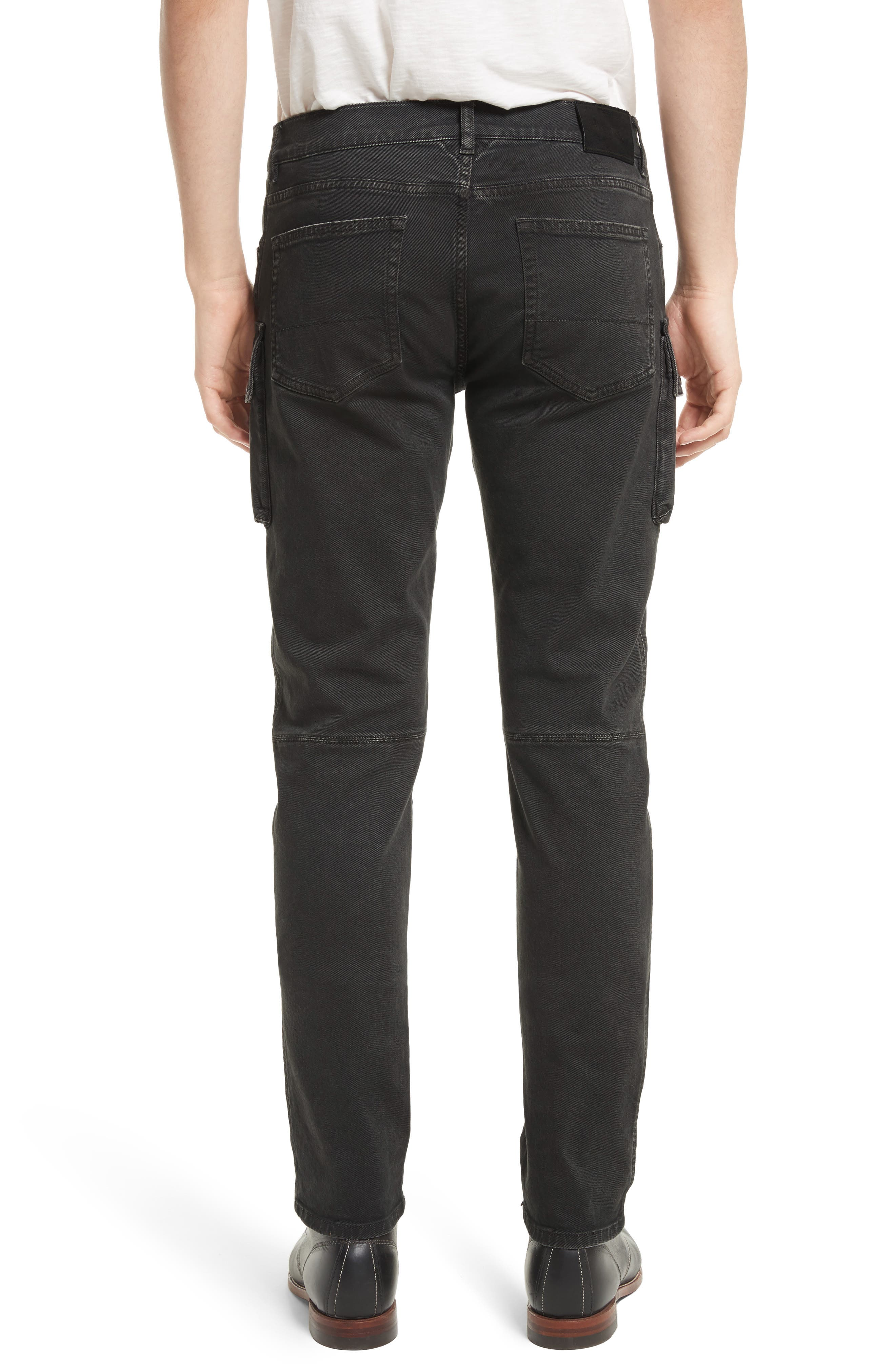 Westward Tapered Fit Cargo Jeans,                             Alternate thumbnail 2, color,                             001