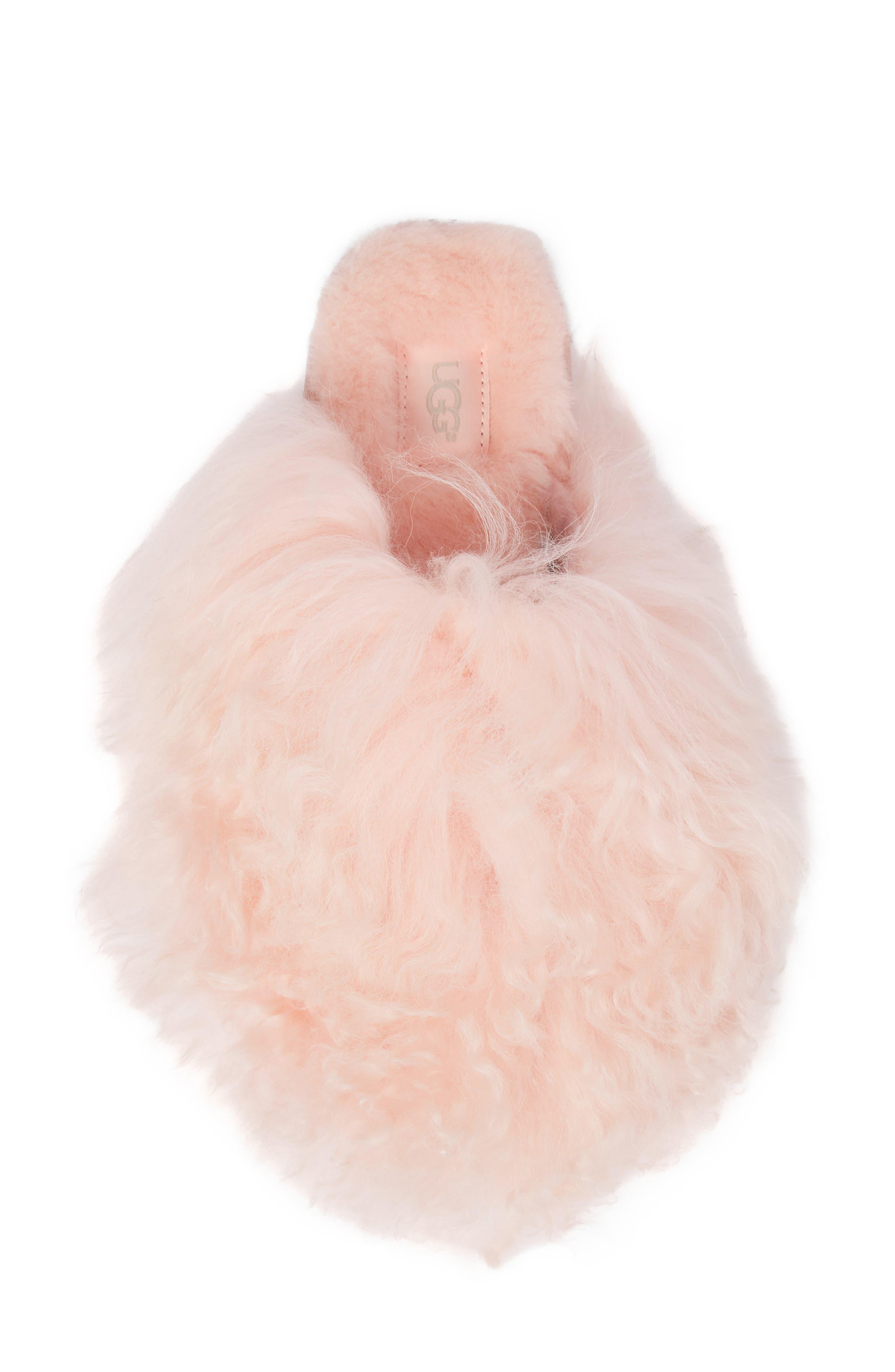 Fluff Momma Genuine Shearling Slipper,                             Alternate thumbnail 15, color,