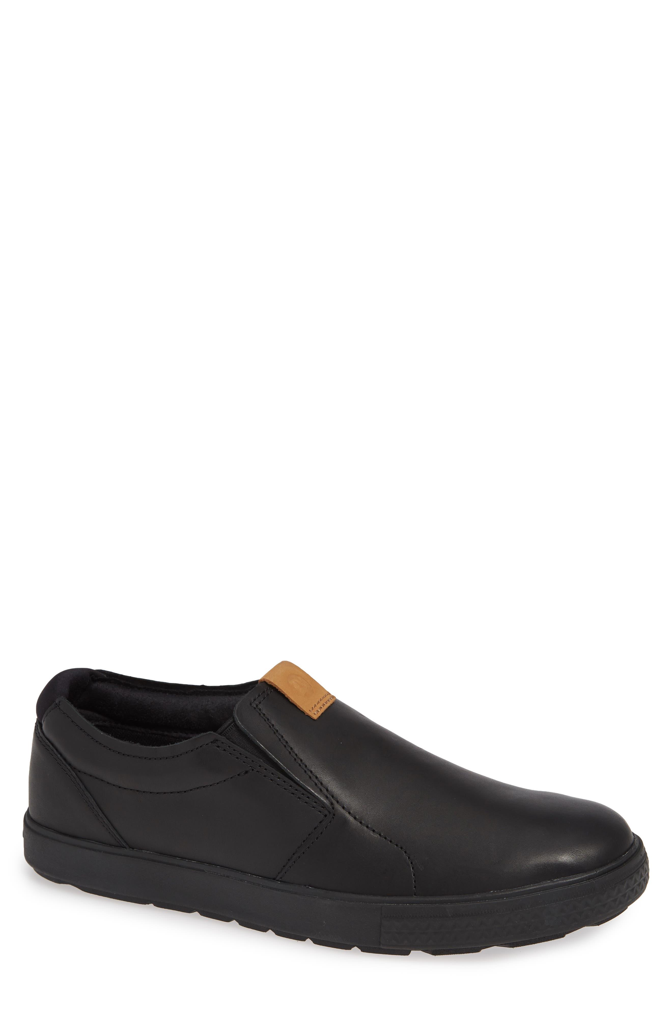 Barkley Slip-On,                         Main,                         color, BLACK