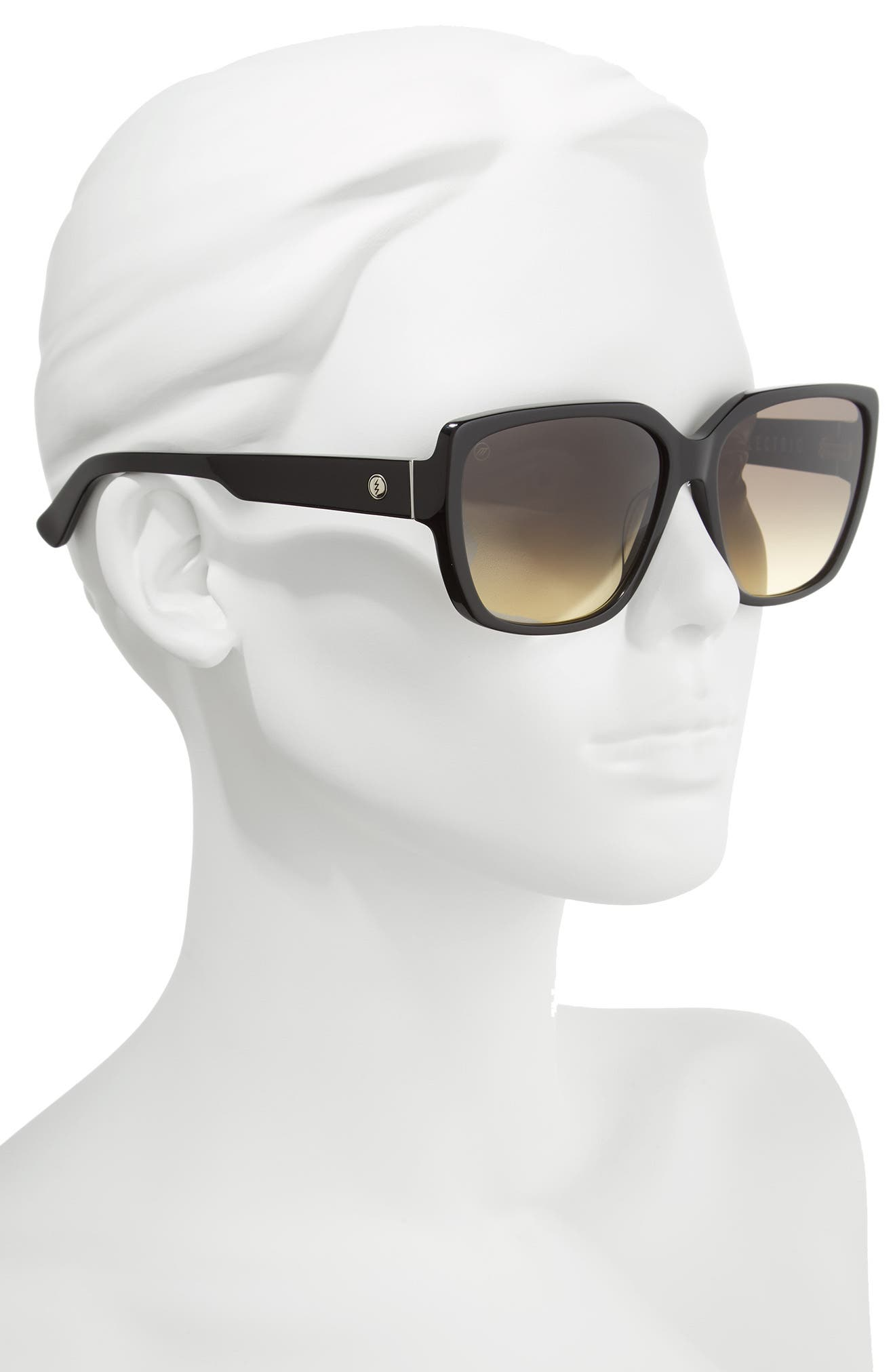 Honey Bee 60mm Mirrored Sunglasses,                             Alternate thumbnail 2, color,                             001