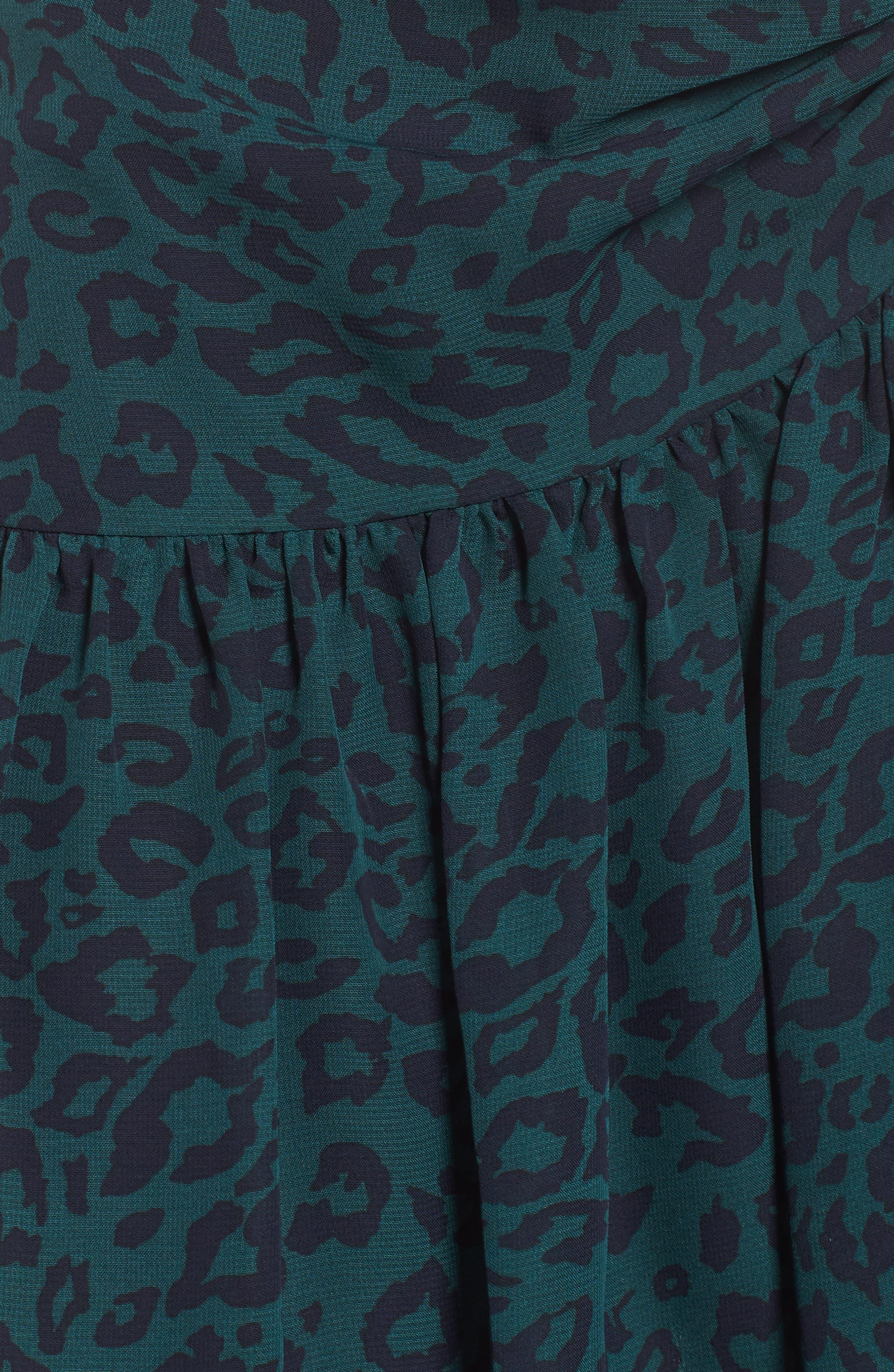 Ruched Ruffle Miniskirt,                             Alternate thumbnail 5, color,                             300