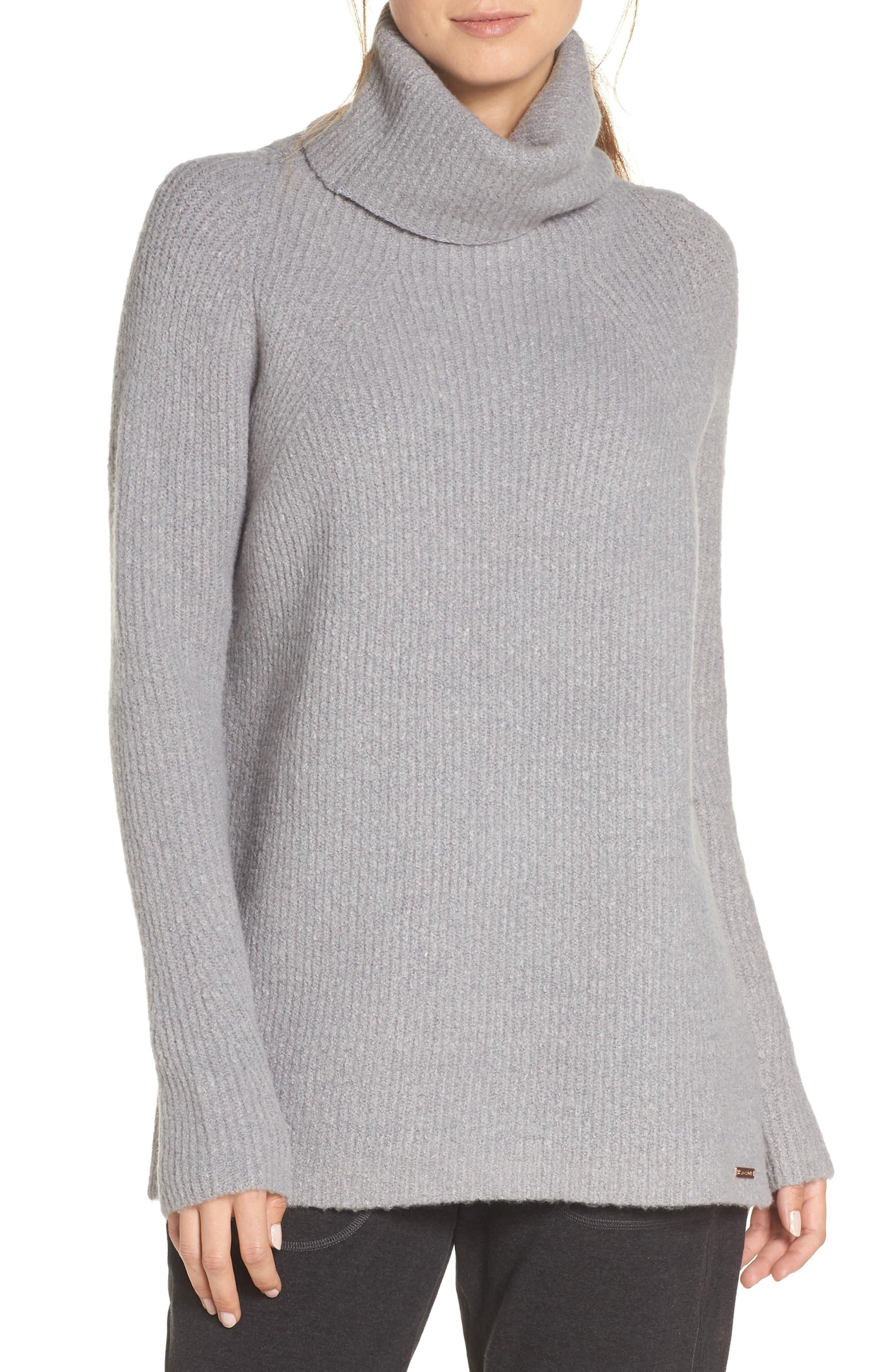 Shakti Oversize Sweater,                             Main thumbnail 1, color,                             SILVER GREY MARL
