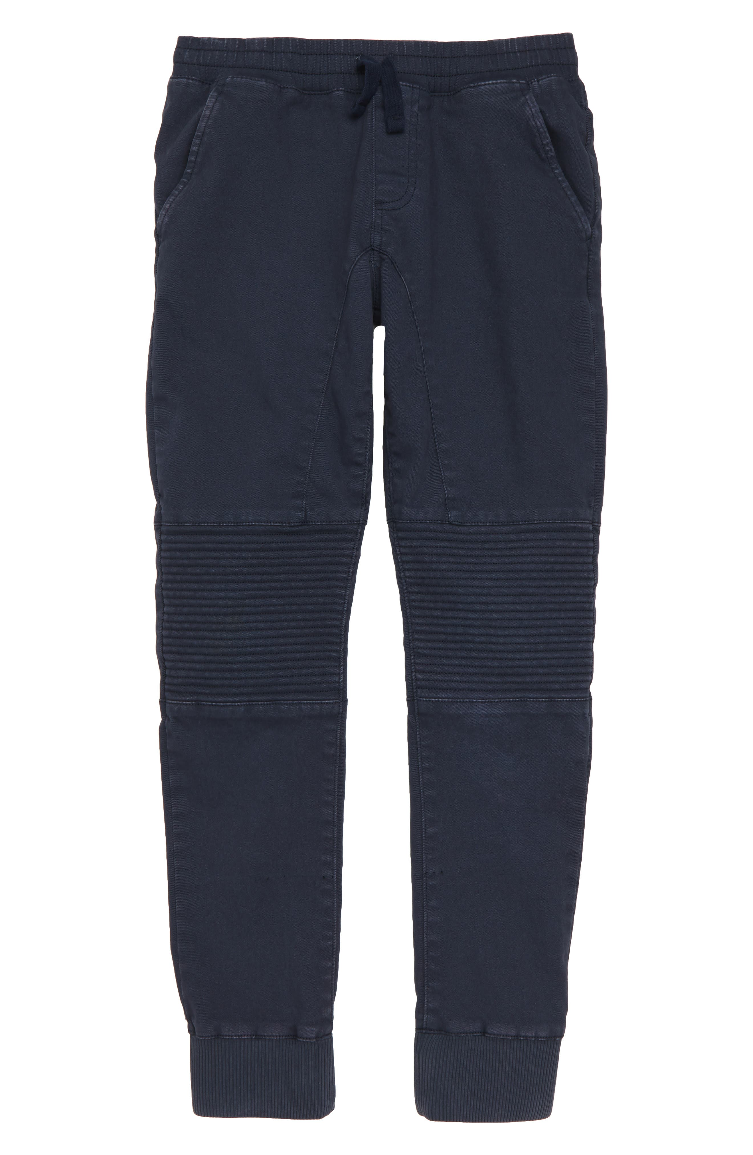 Moto Jogger Pants,                             Main thumbnail 1, color,                             NAVY INDIA INK