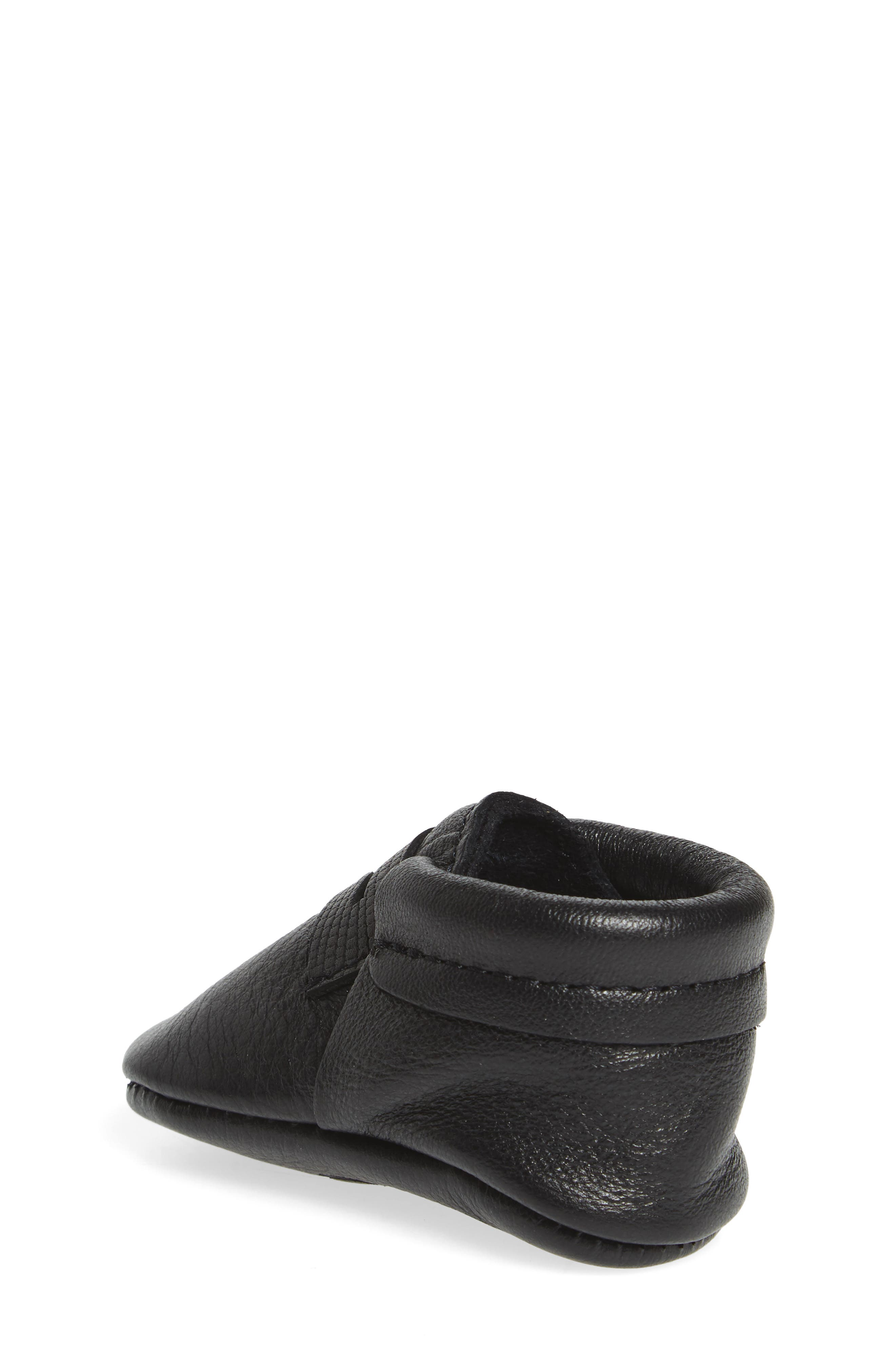 Penny Loafer Crib Shoe,                             Alternate thumbnail 2, color,                             001