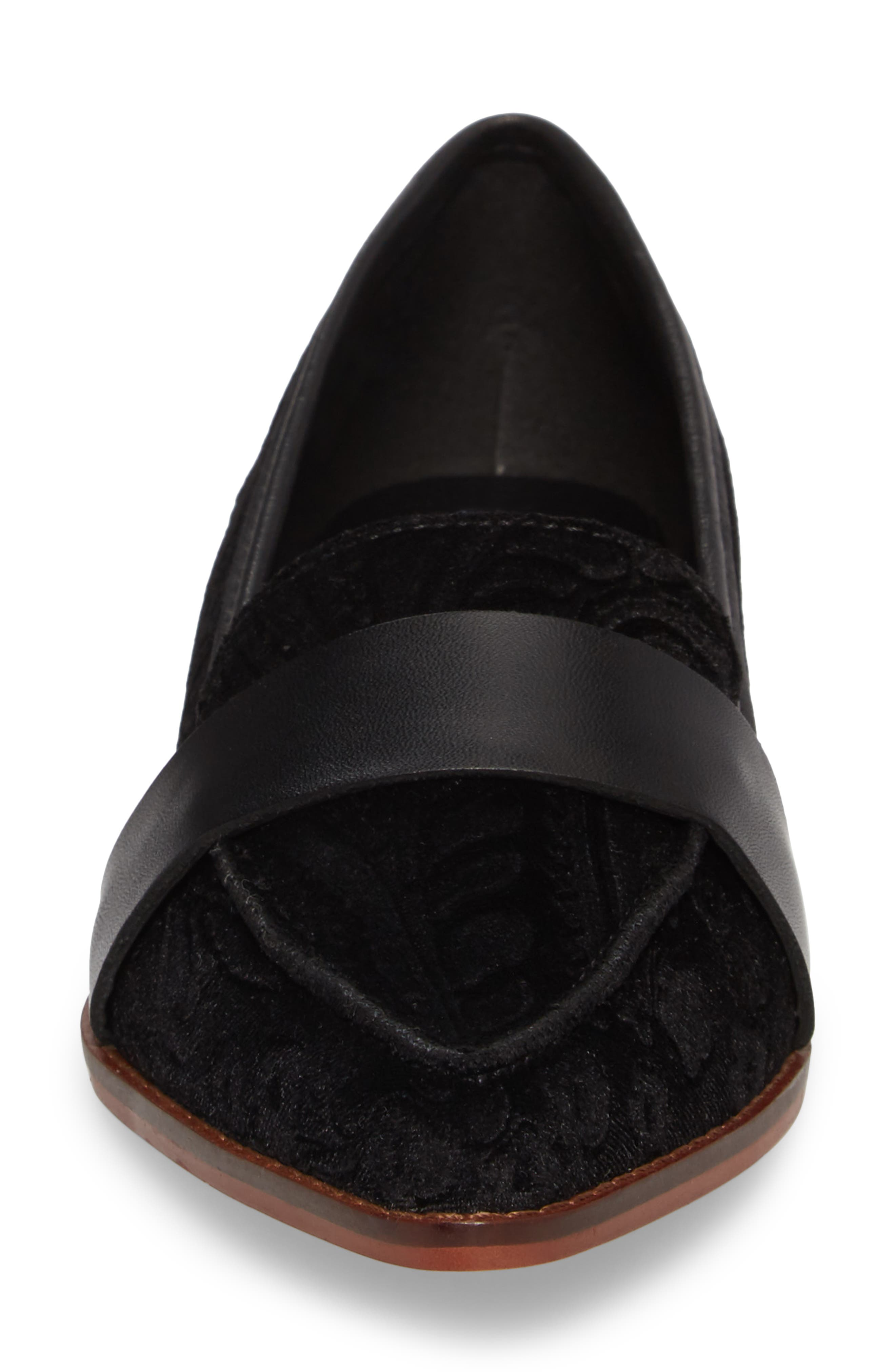 Edie Pointy Toe Loafer,                             Alternate thumbnail 35, color,