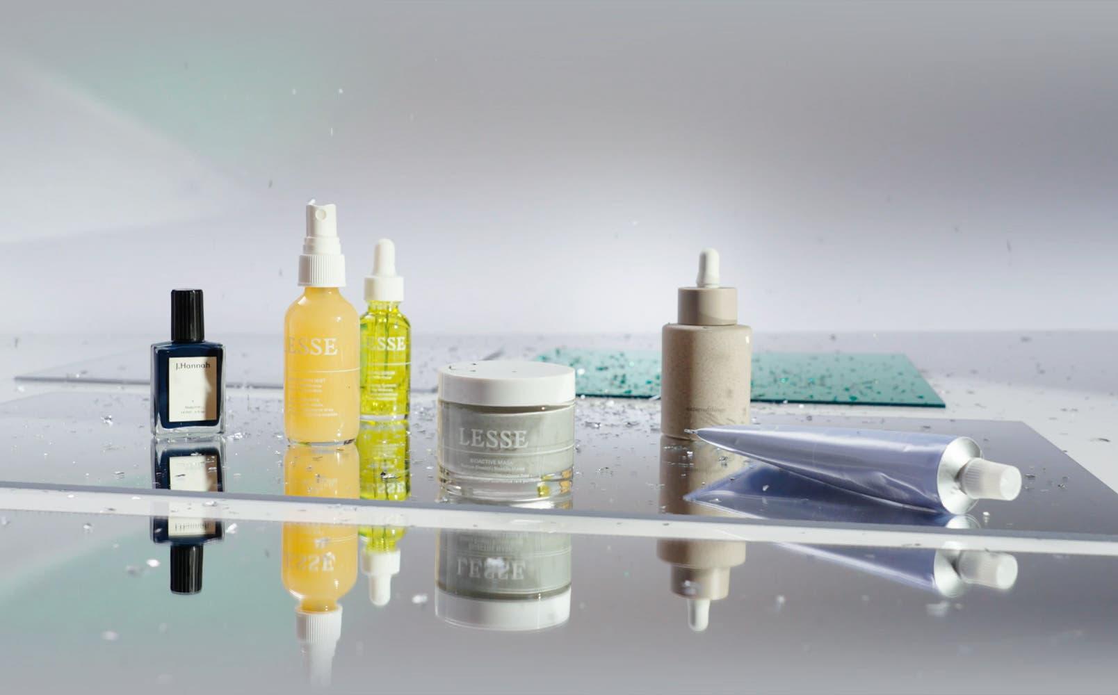 Good to glow: nail polish and skin care gifts.